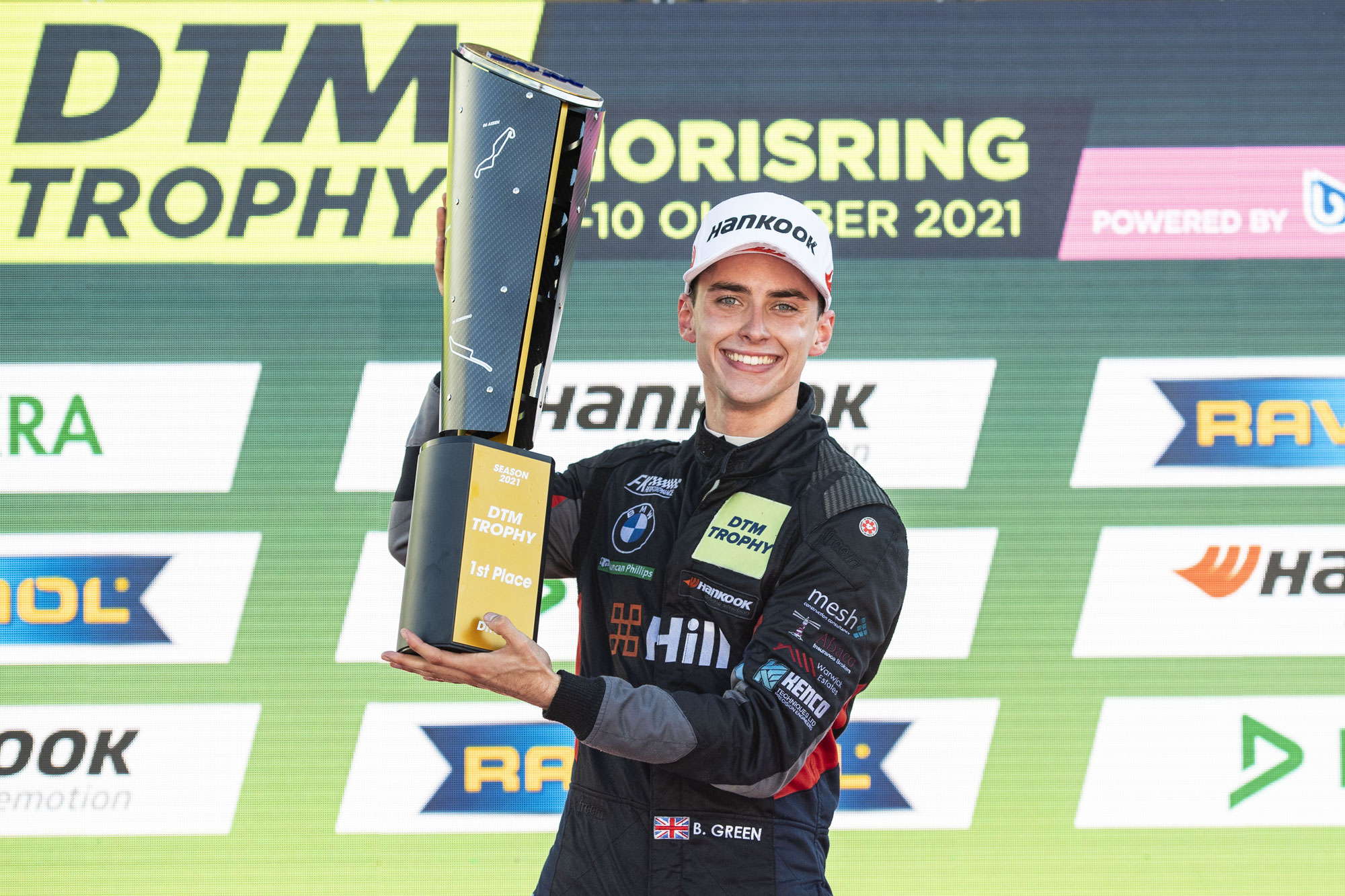 Perfekter Tag für Ben Green: Sieg und Meistertitel beim Finale der DTM Trophy 2021 auf dem Norisring