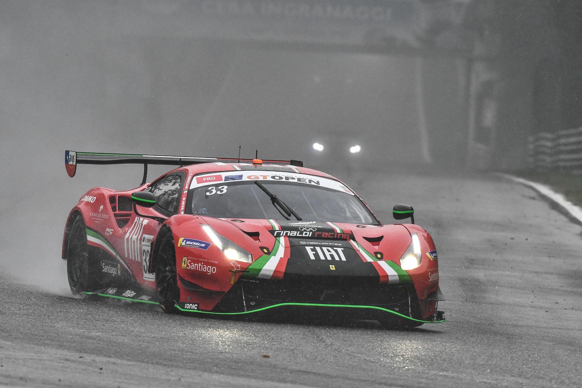 Rinaldi Racing feiert siegreiches Comeback in der GT Open - Inception Racing nach Pole-Position nur auf Rang 13