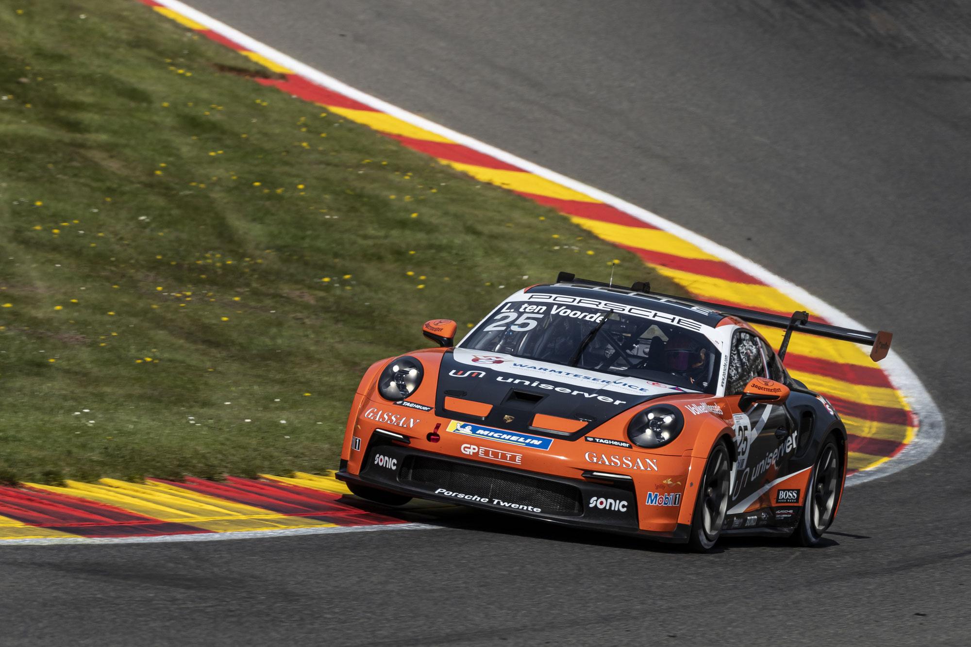 Porsche Mobil1 Supercup mit 32 Fahrzeugen zu Gast in Spa-Francorchamps