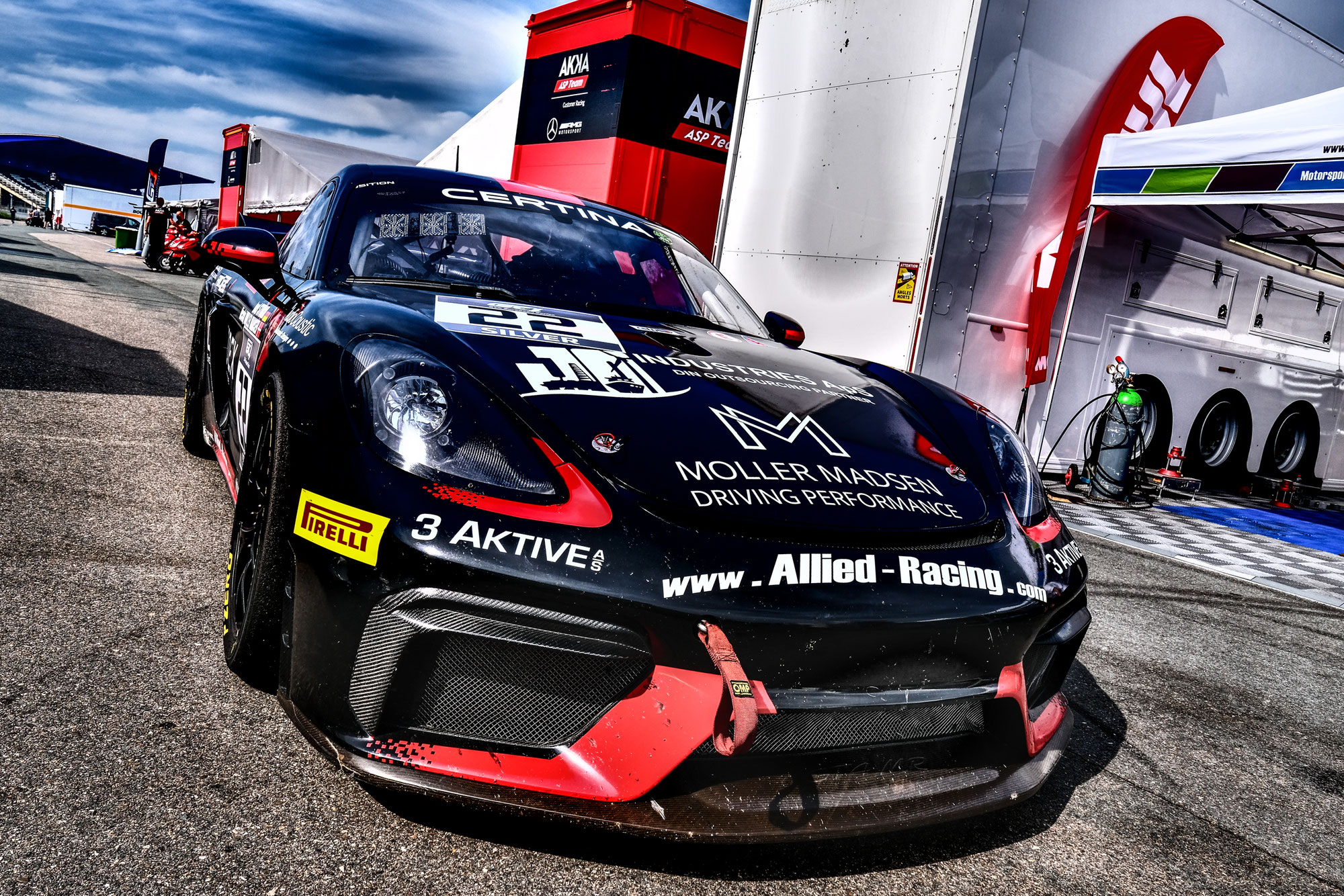 Offizieller Test eröffnet das Wochenende der GT4 European Series in Zandvoort