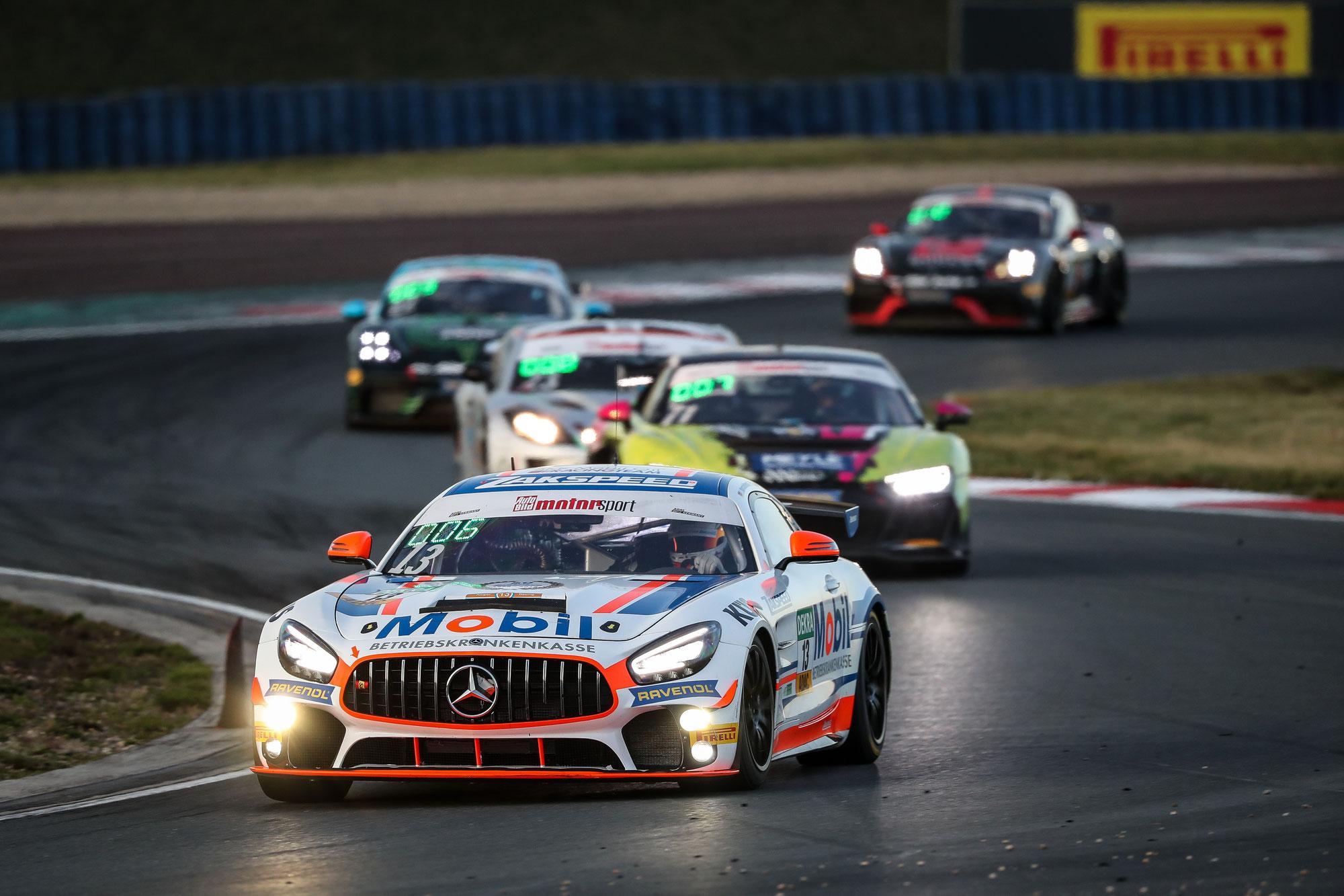 Team Zakspeed mit zwei Mercedes-AMG in der ADAC GT4 Germany