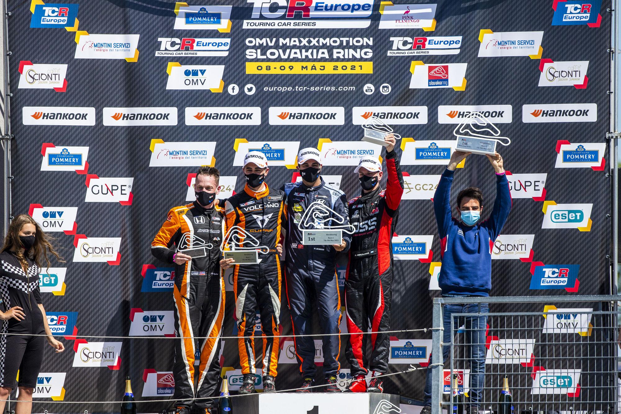 SLOVAKIARING: Fahrerstimmen nach dem zweiten Rennen