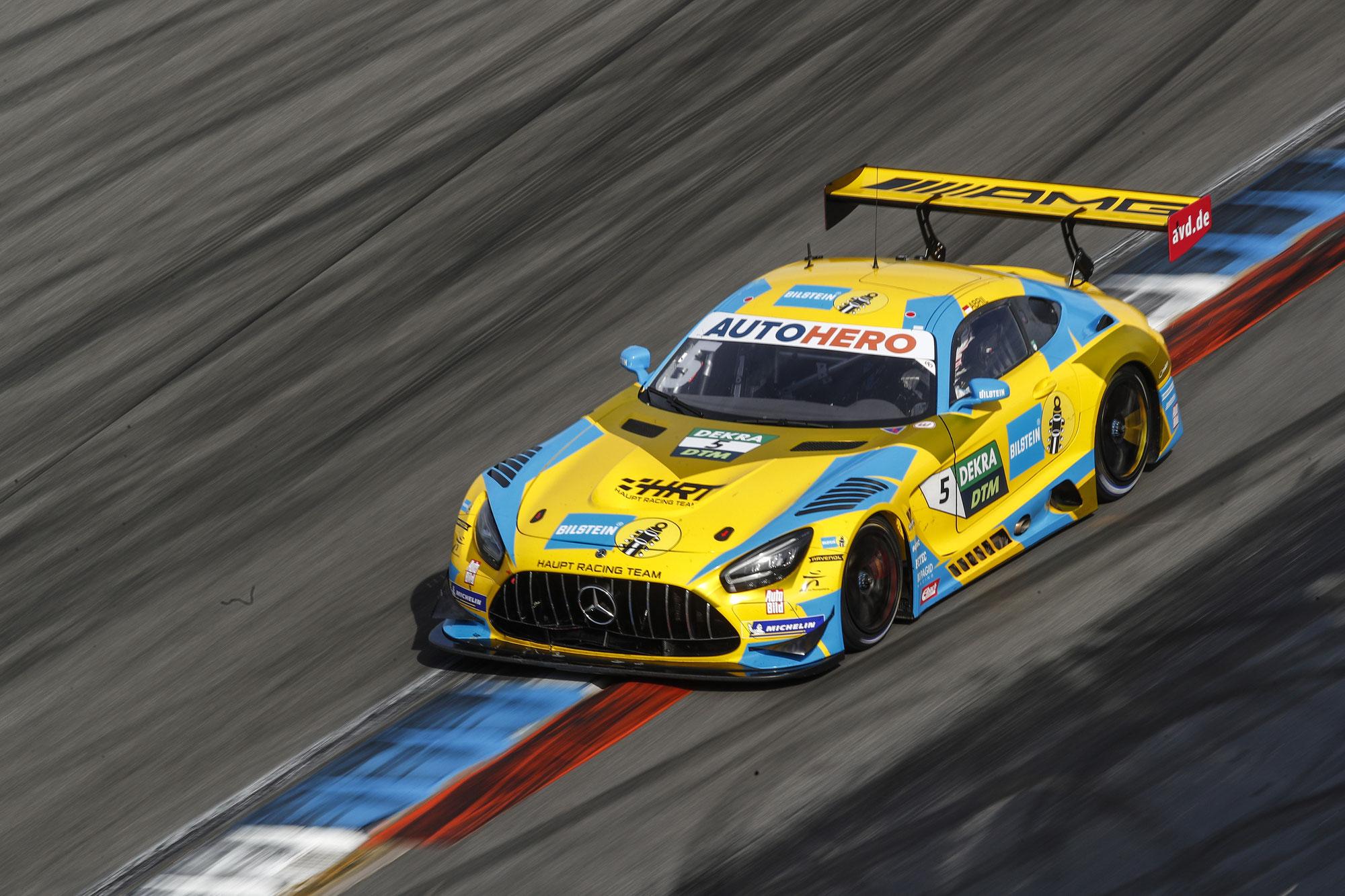 HRT beim Saisonfinale der DTM auf dem Norisring mit Chancen auf den Fahrertitel