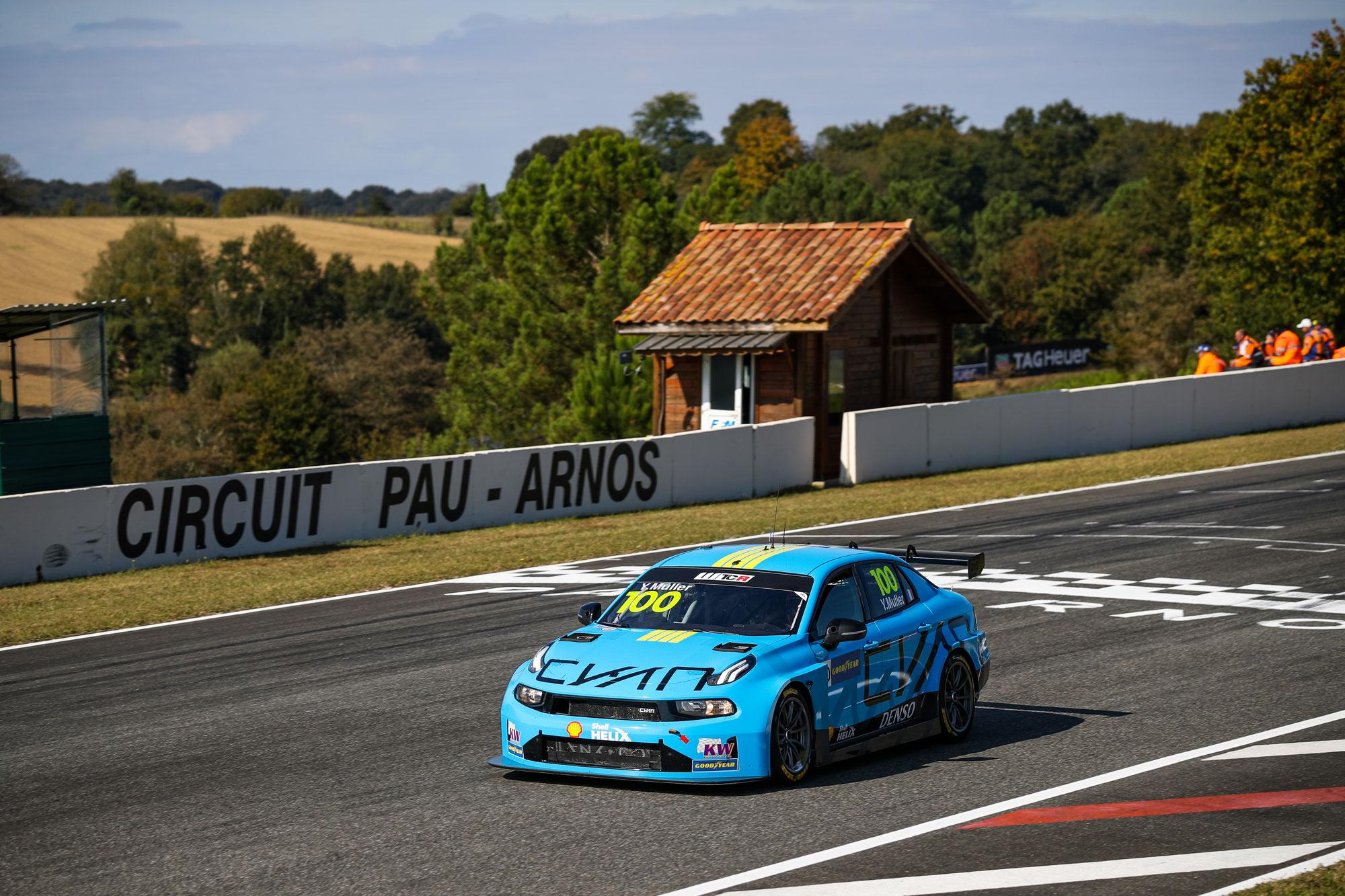 Muller und Urrutia bestimmen die Trainingssitzungen auf dem Circuit Pau-Arnos
