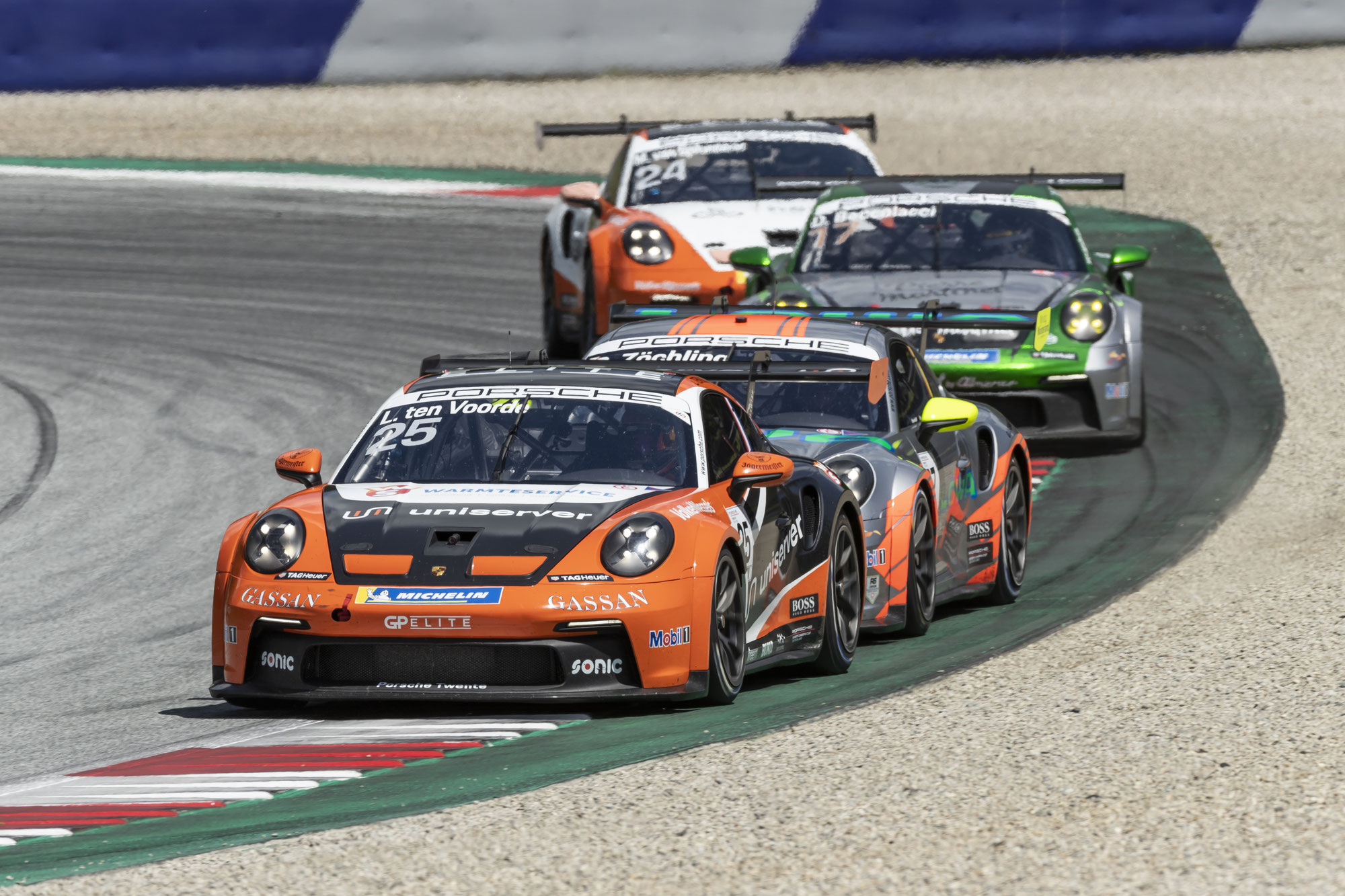 Porsche Mobil 1 Supercup startet in Doppel-Runde auf dem Red-Bull-Ring