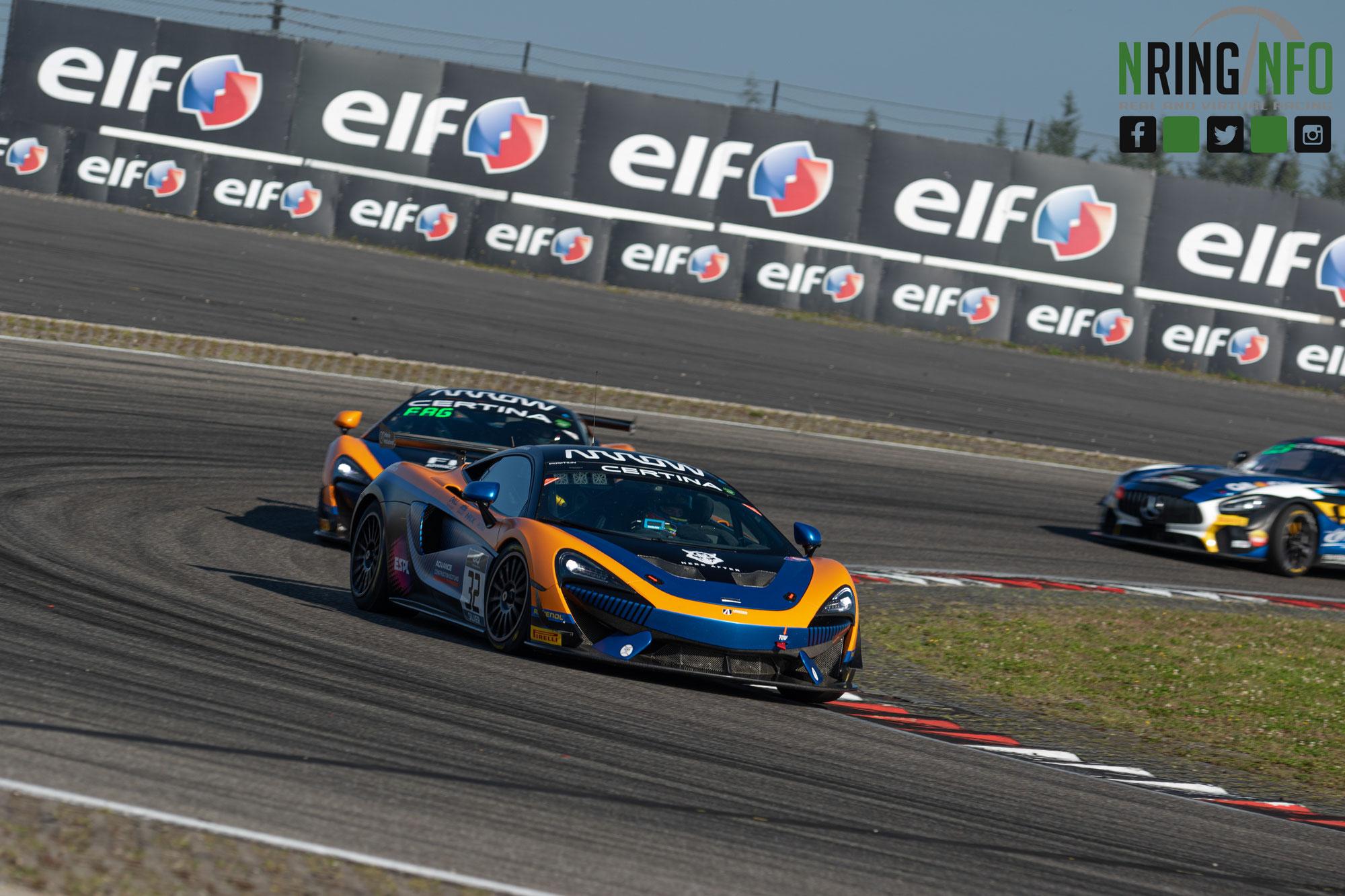 United Autosports, Allied Racing und Team Full Motorsport siegen auf dem Nürburgring, Silver Cup Teams' und Am Cup Titel entschieden
