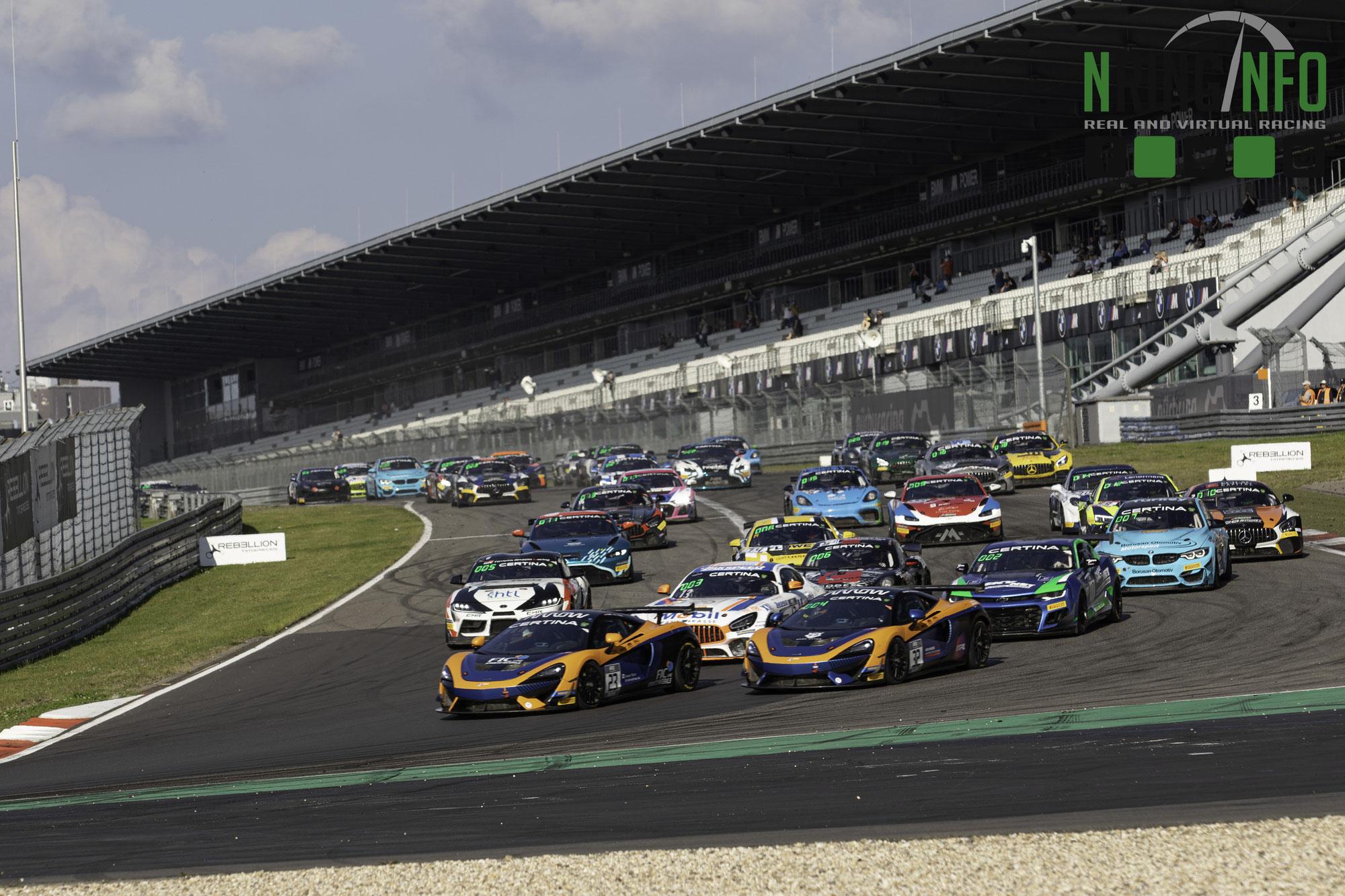 Team Zakspeed, Saintéloc Racing und Team Fullmotorsport gewinnen Rennen 1 auf dem Nürburgring, Pro-Am-Titel entschieden