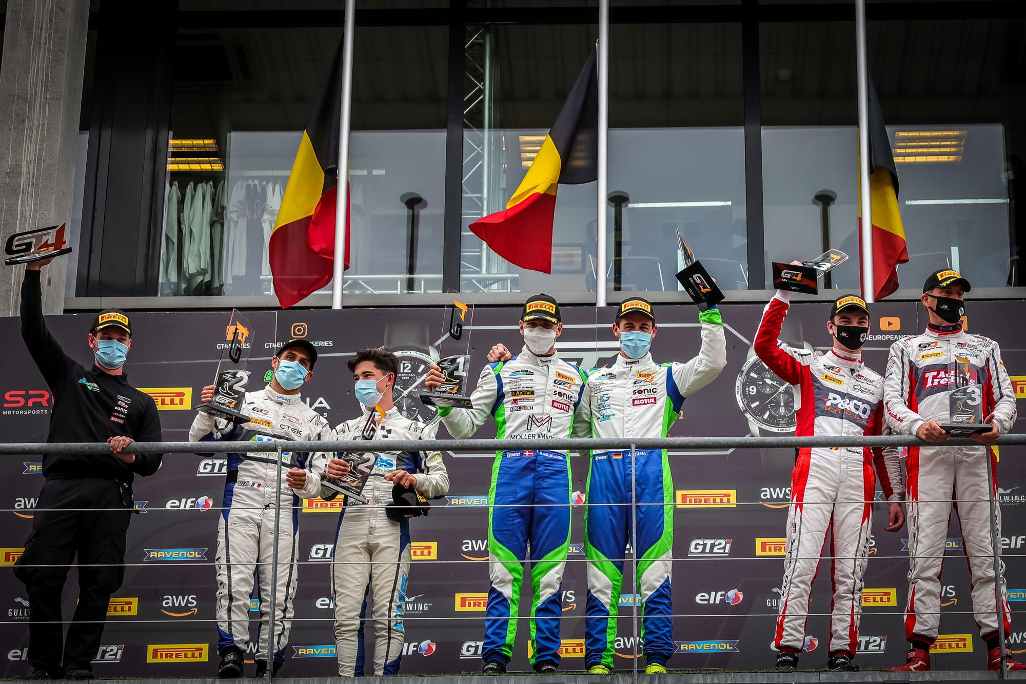 Erster Sieg für Allied Racing im Jahr 2021, Saintéloc Racing und Borusan Otomotiv Motorsport holen Klassensiege in Spa