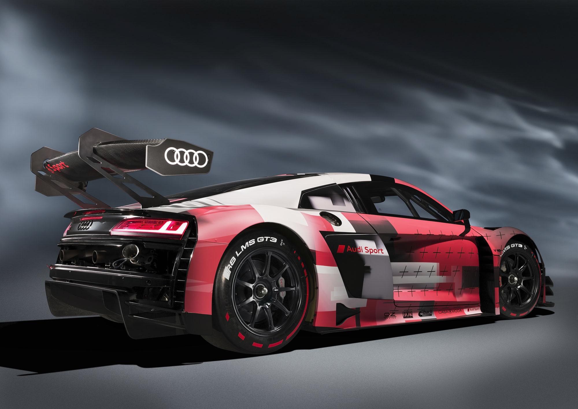 Zweite Evolutionsstufe des Audi R8 LMS GT3