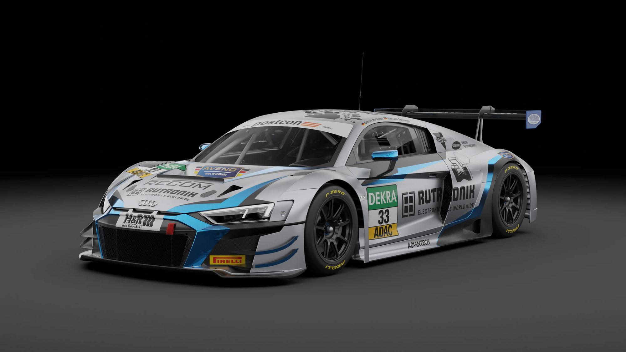 Neuer Look bei Rutronik Racing