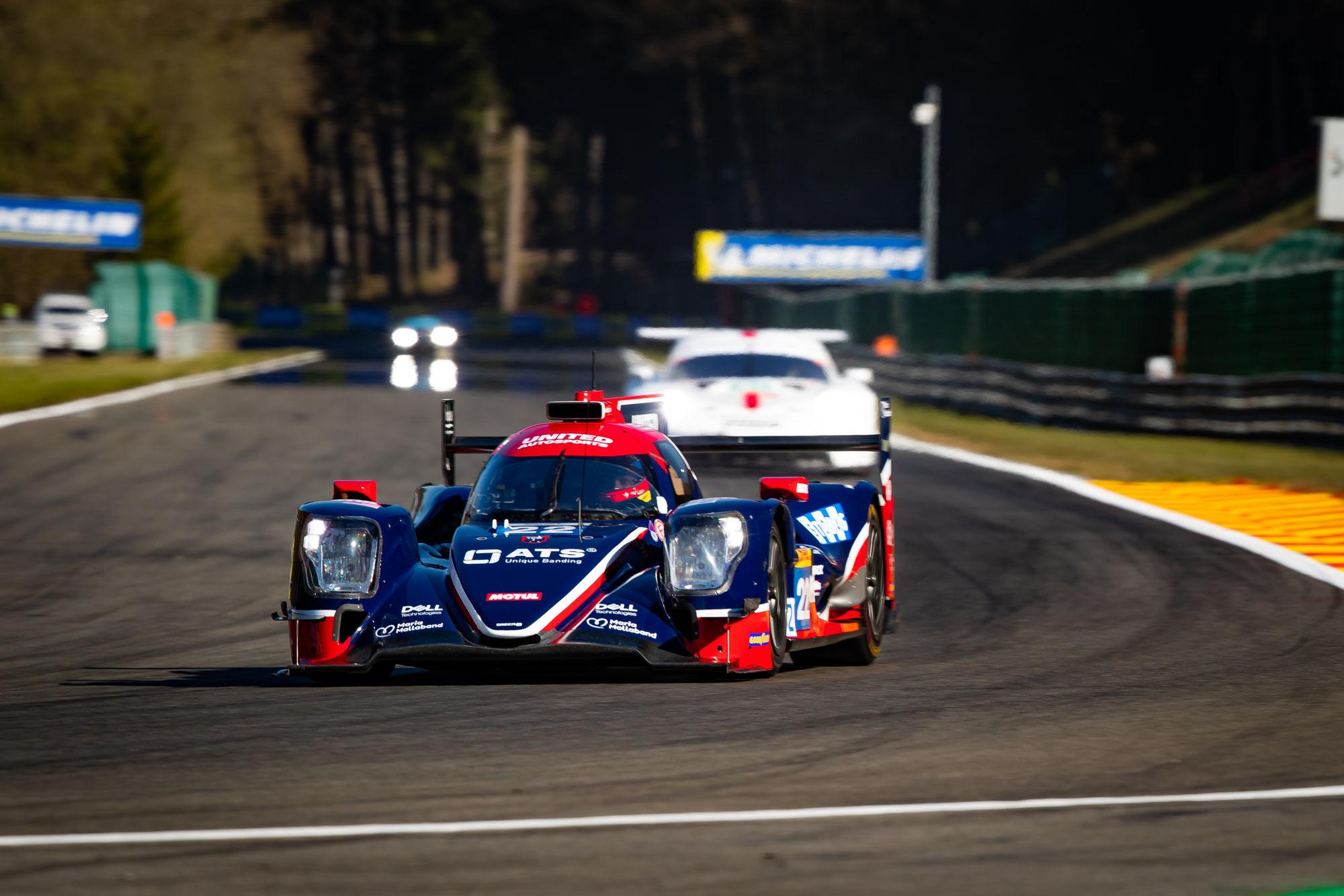 United Autosports mit Bestzeit im ersten Test der FIA WEC
