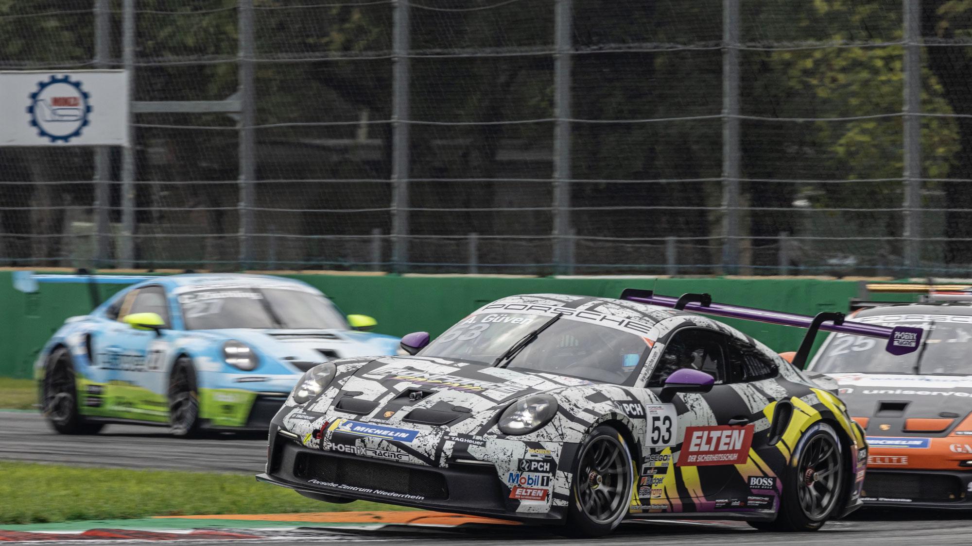 Ayhancan Güven jubelt in Monza über seinen dritten Saisonsieg