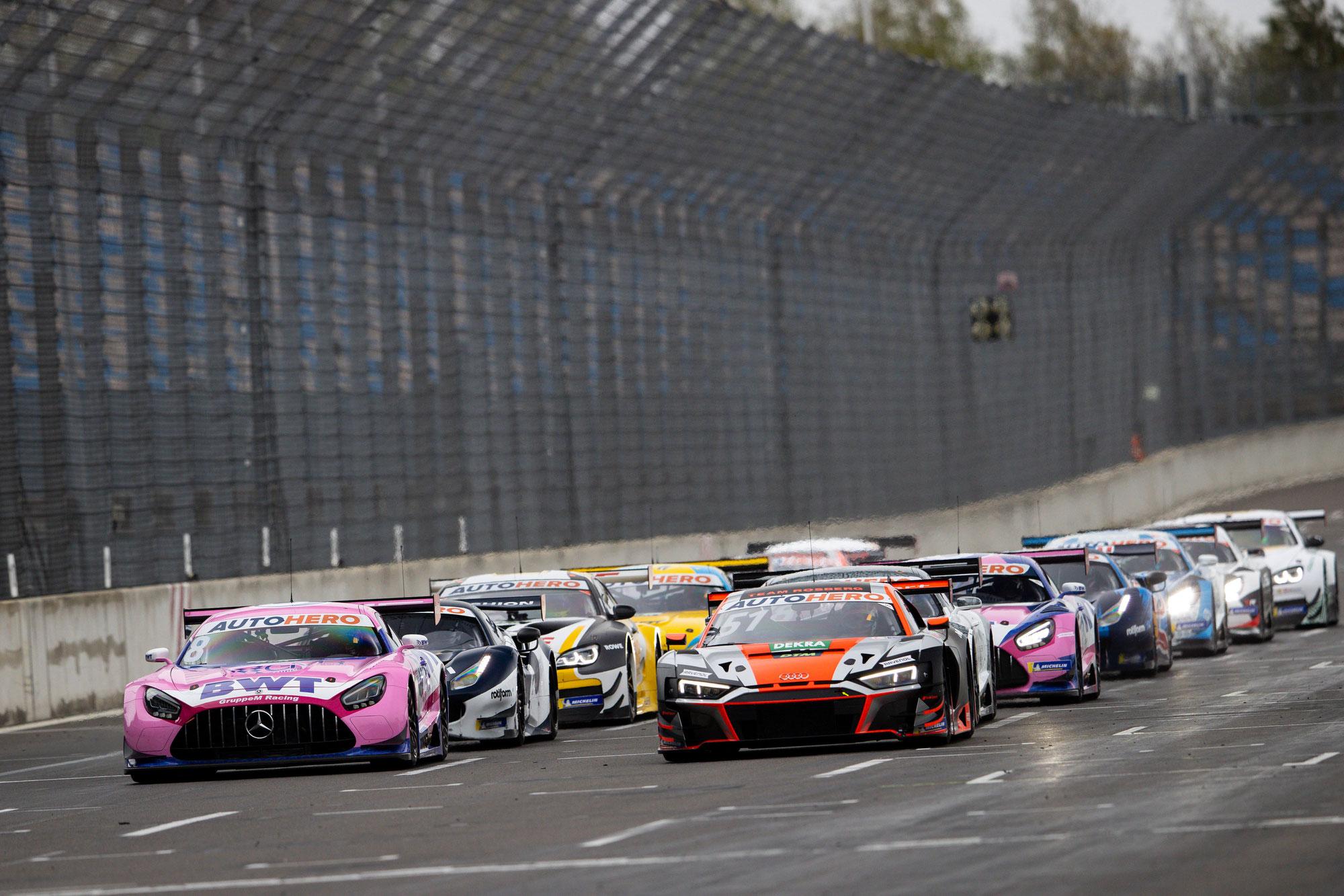 DTM-Test in der Lausitz: Götz, Albon und Lawson geben das Tempo vor