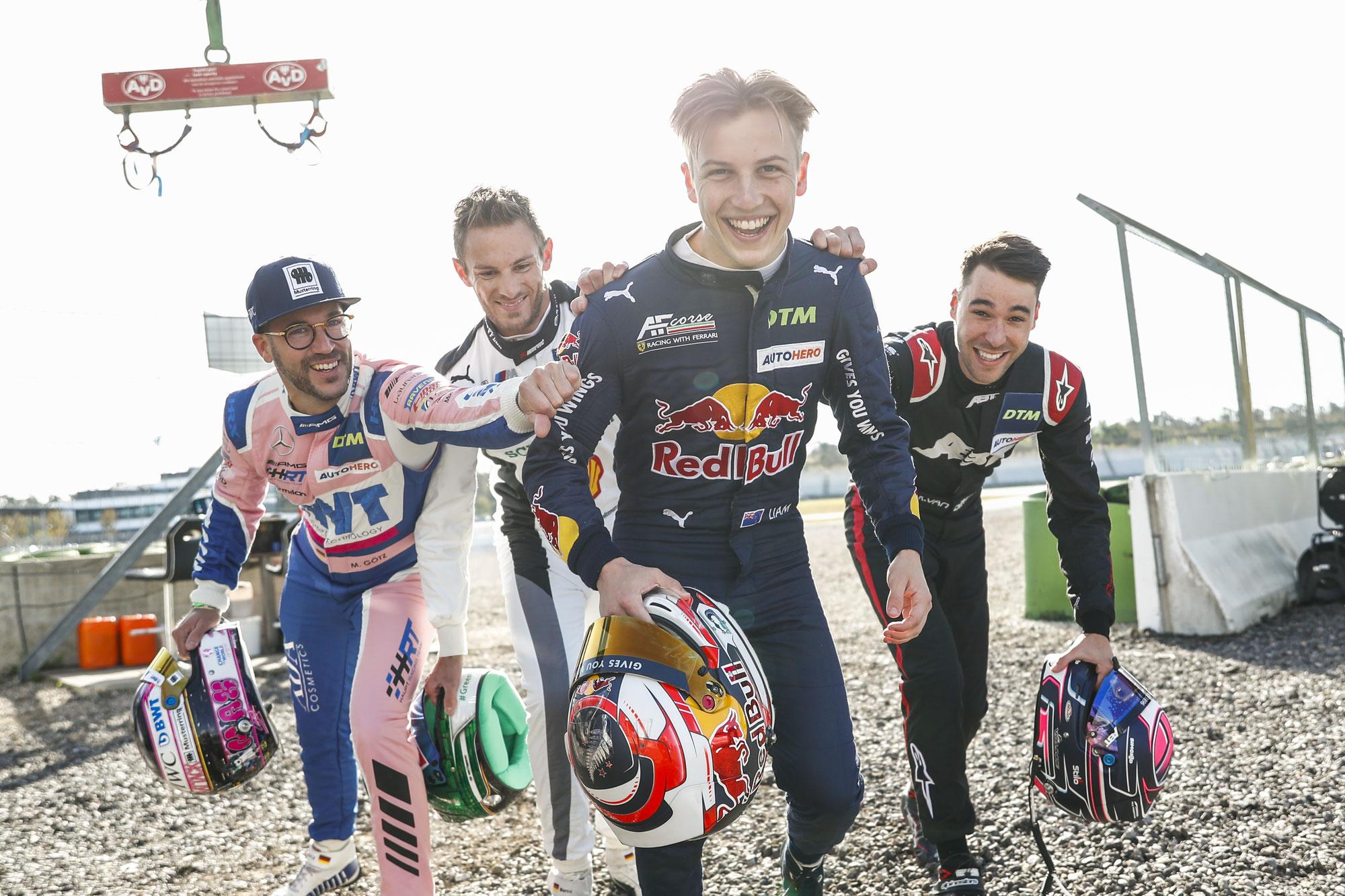 Herzschlagfinale der DTM am Norisring: Duell zwischen Lawson und van der Linde oder doch Vierkampf mit Götz und Wittmann