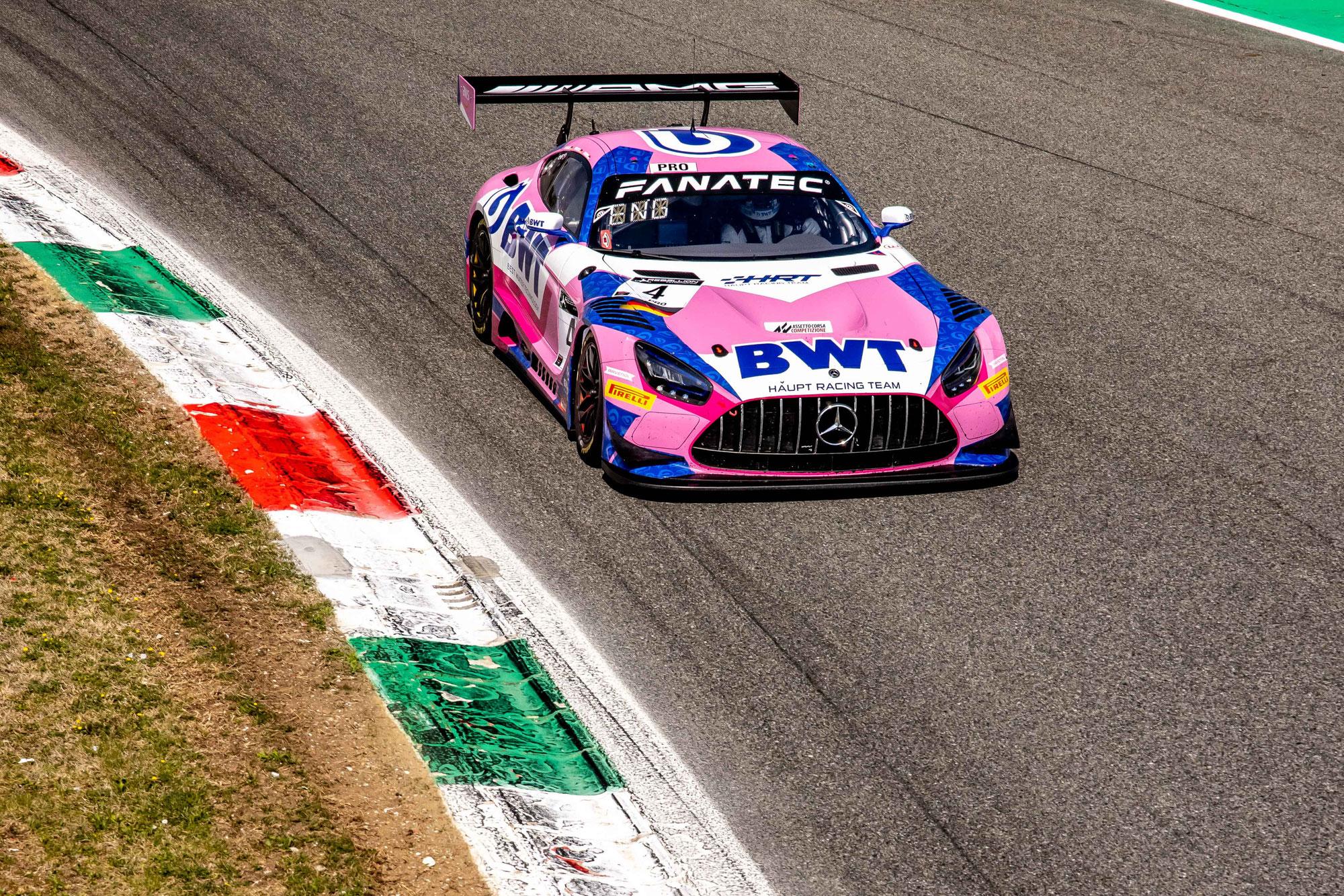 Aufholjagd nicht belohnt: Haupt Racing Team mit viel Pech beim Saisonauftakt in Monza