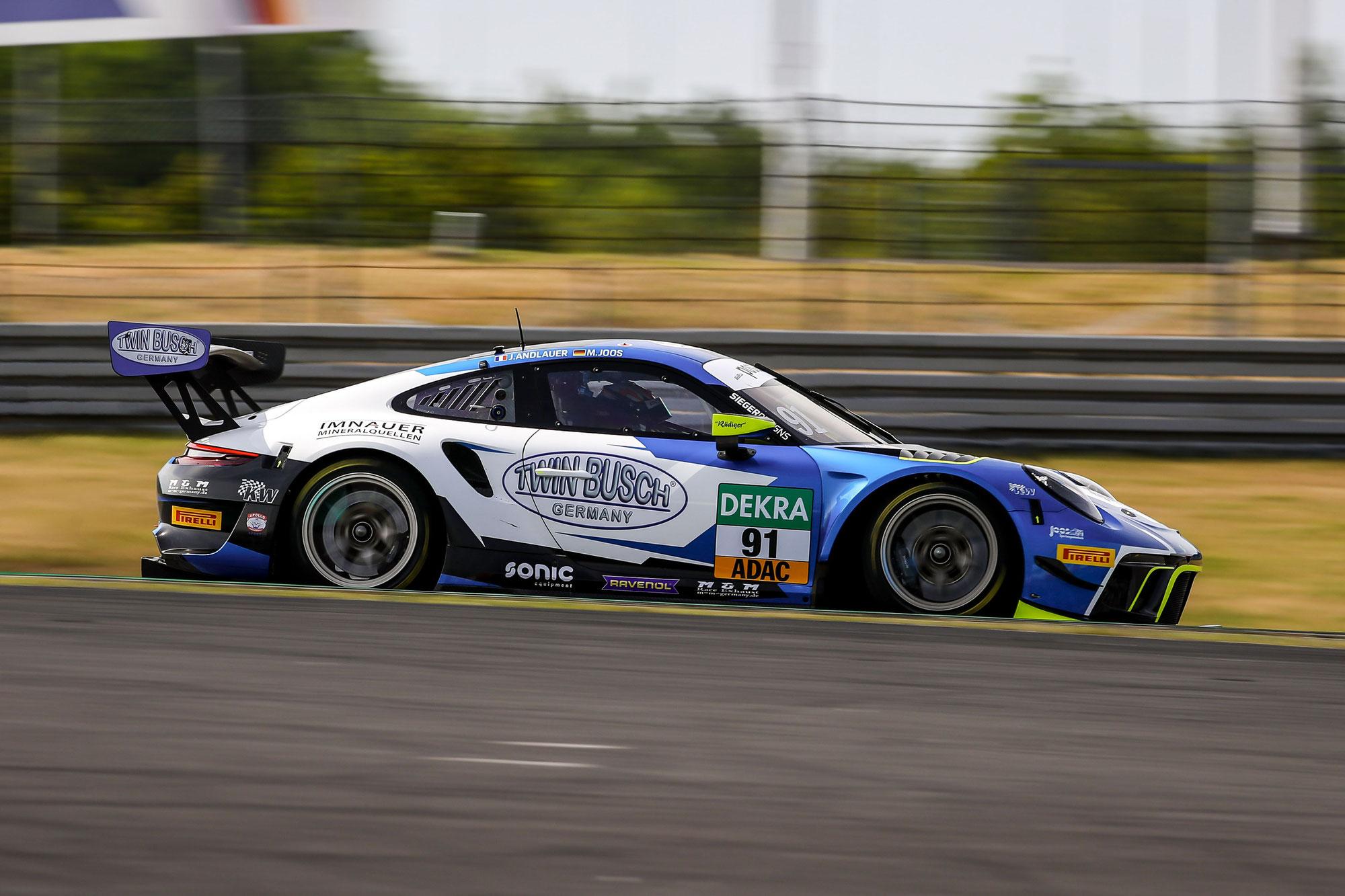 Twin Busch Germany und das ADAC GT Masters verlängern Partnerschaft