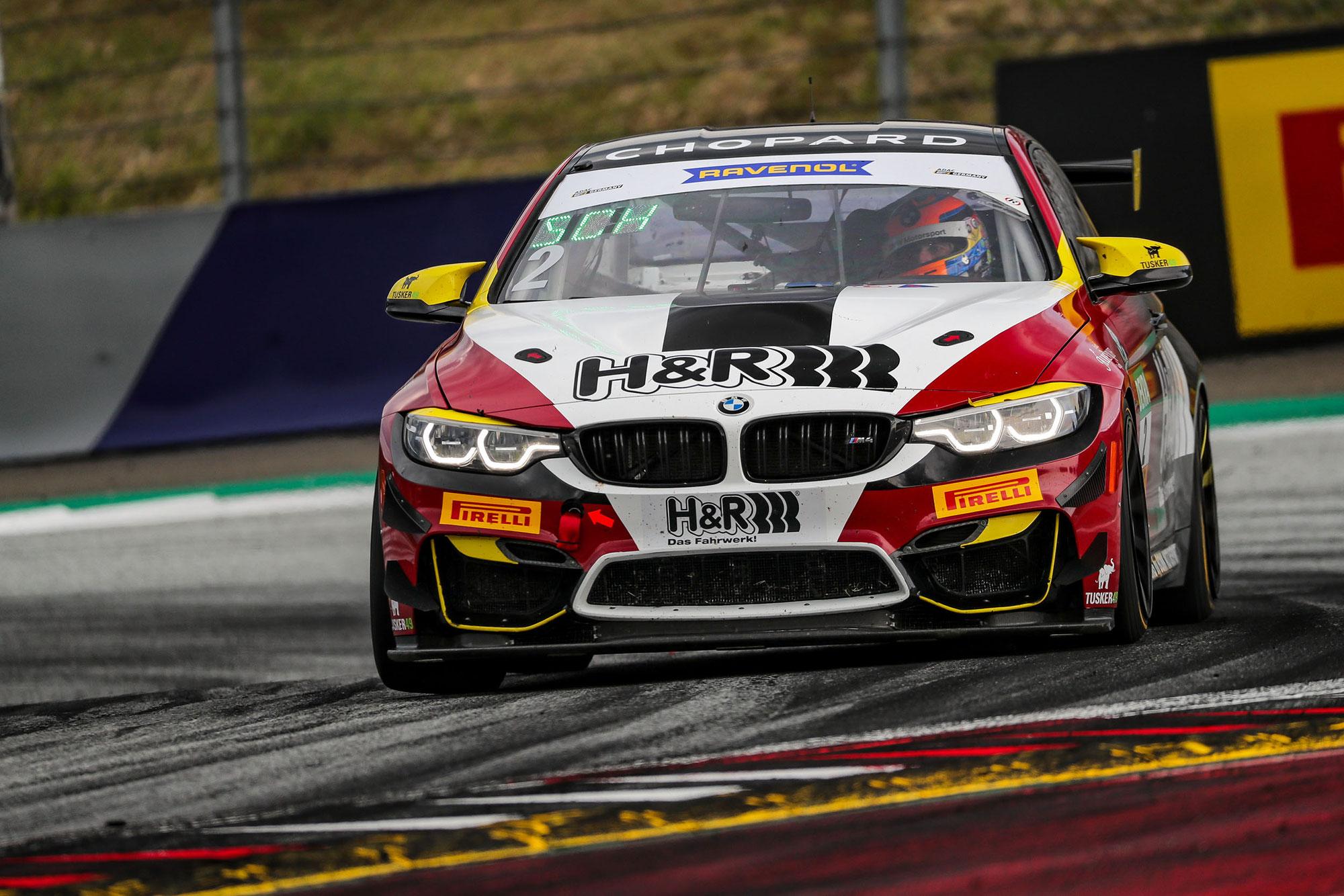 Vier Rennen, vier Siege: Michael Schrey mit eindrucksvoller Siegesserie in der ADAC GT4 Germany