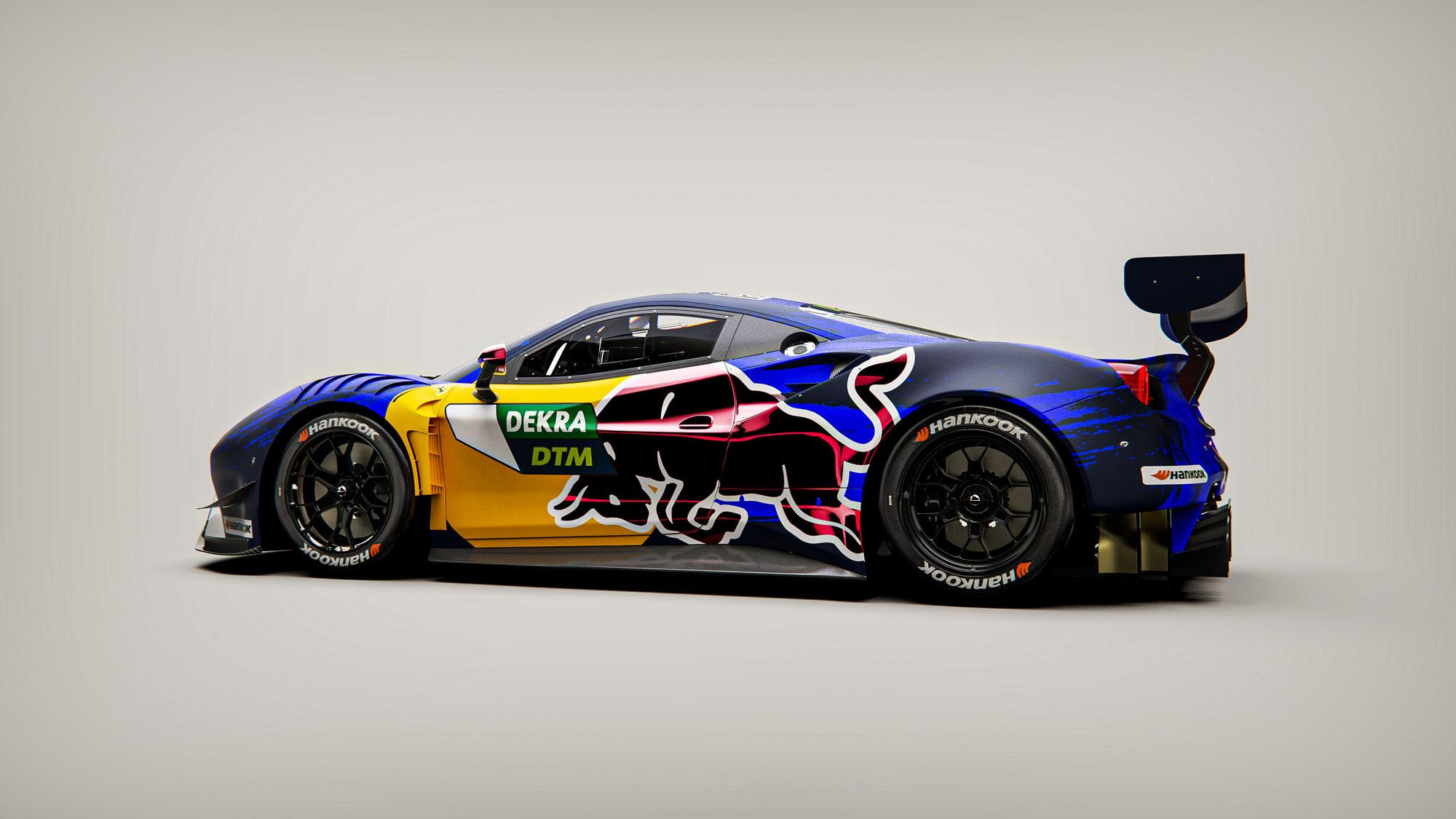 Red Bull feiert DTM-Comeback mit AF Corse
