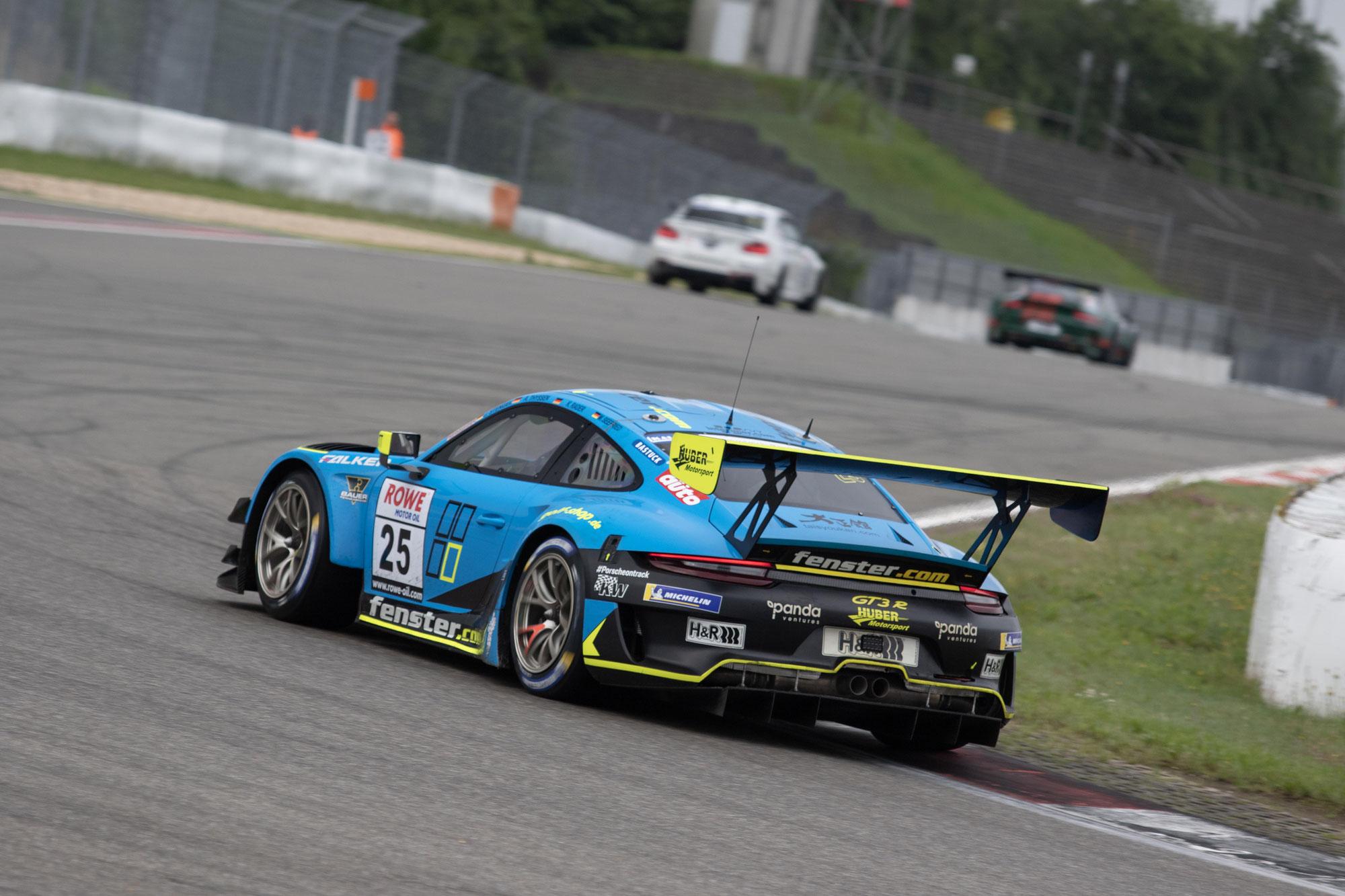 Erfolgreiches Wochenende für Huber Motorsport beim NLS Double Header