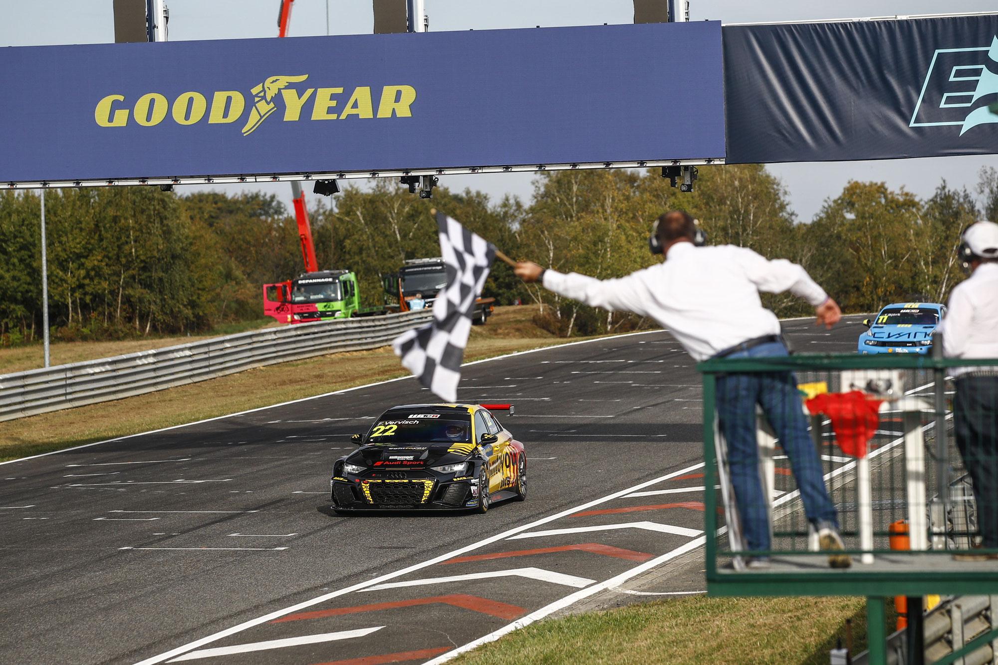 Dritter Saisonsieg für neuen Audi RS 3 LMS
