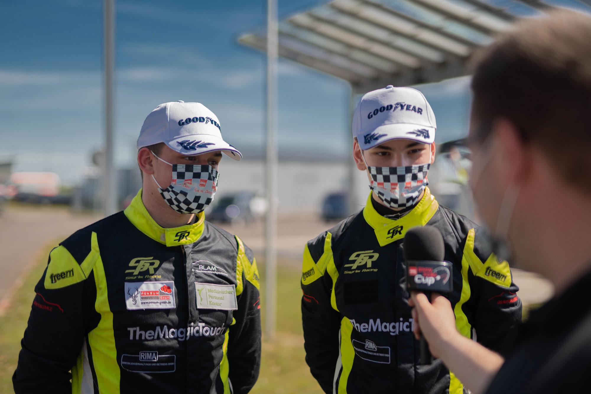 Smyrlis Racing feiert mehrfach Podestplätze in Oschersleben