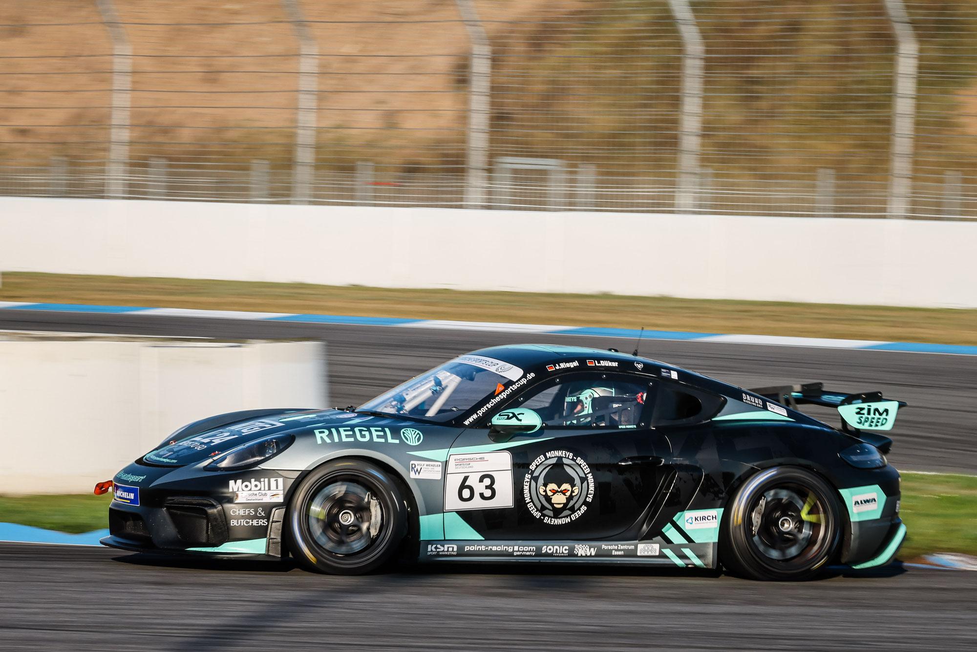 Die Speed Monkeys starten in der ADAC GT4 Germany in Hockenheim