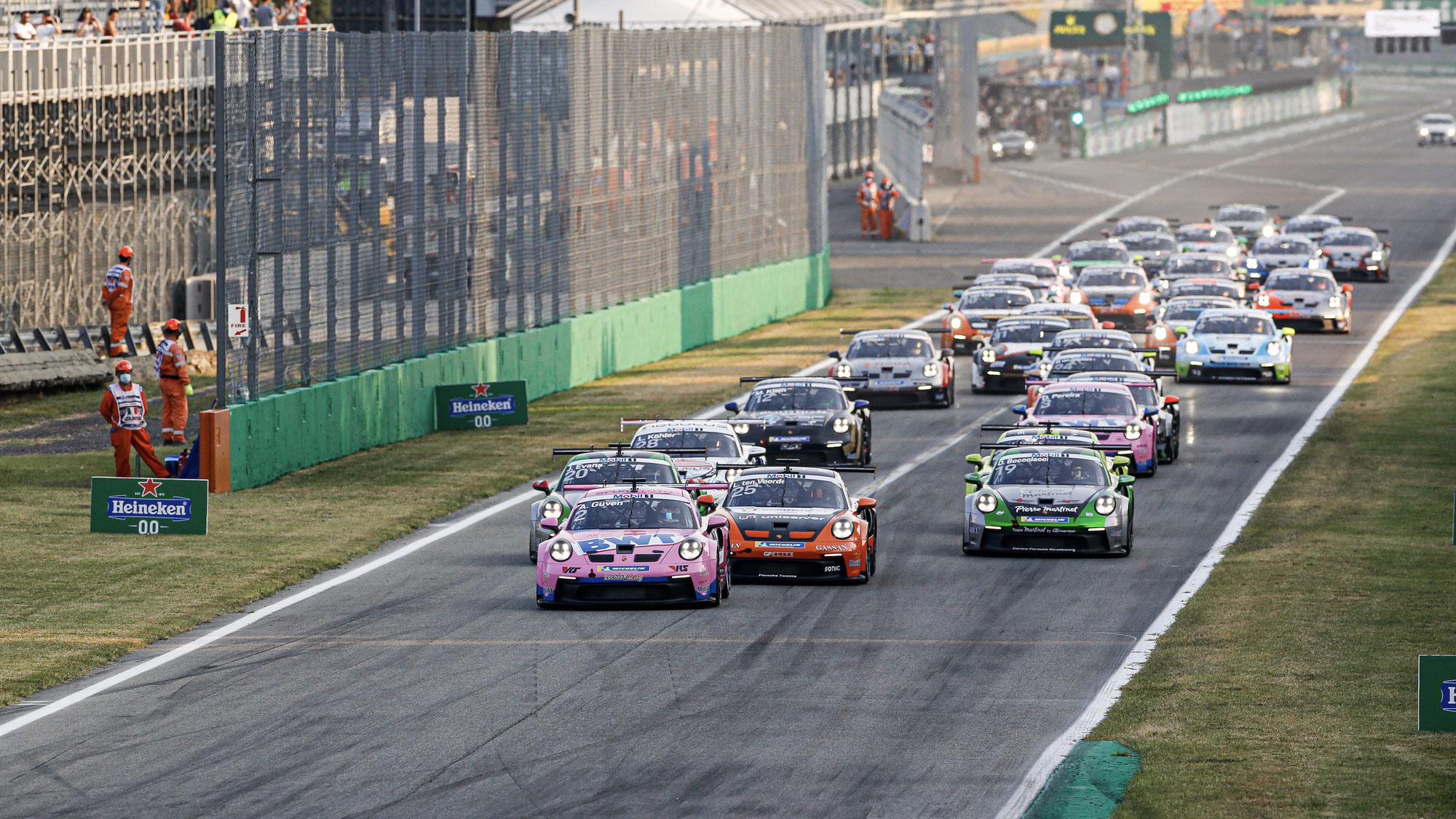 Sieg für Porsche Junior Ayhancan Güven, Titel für Larry ten Voorde