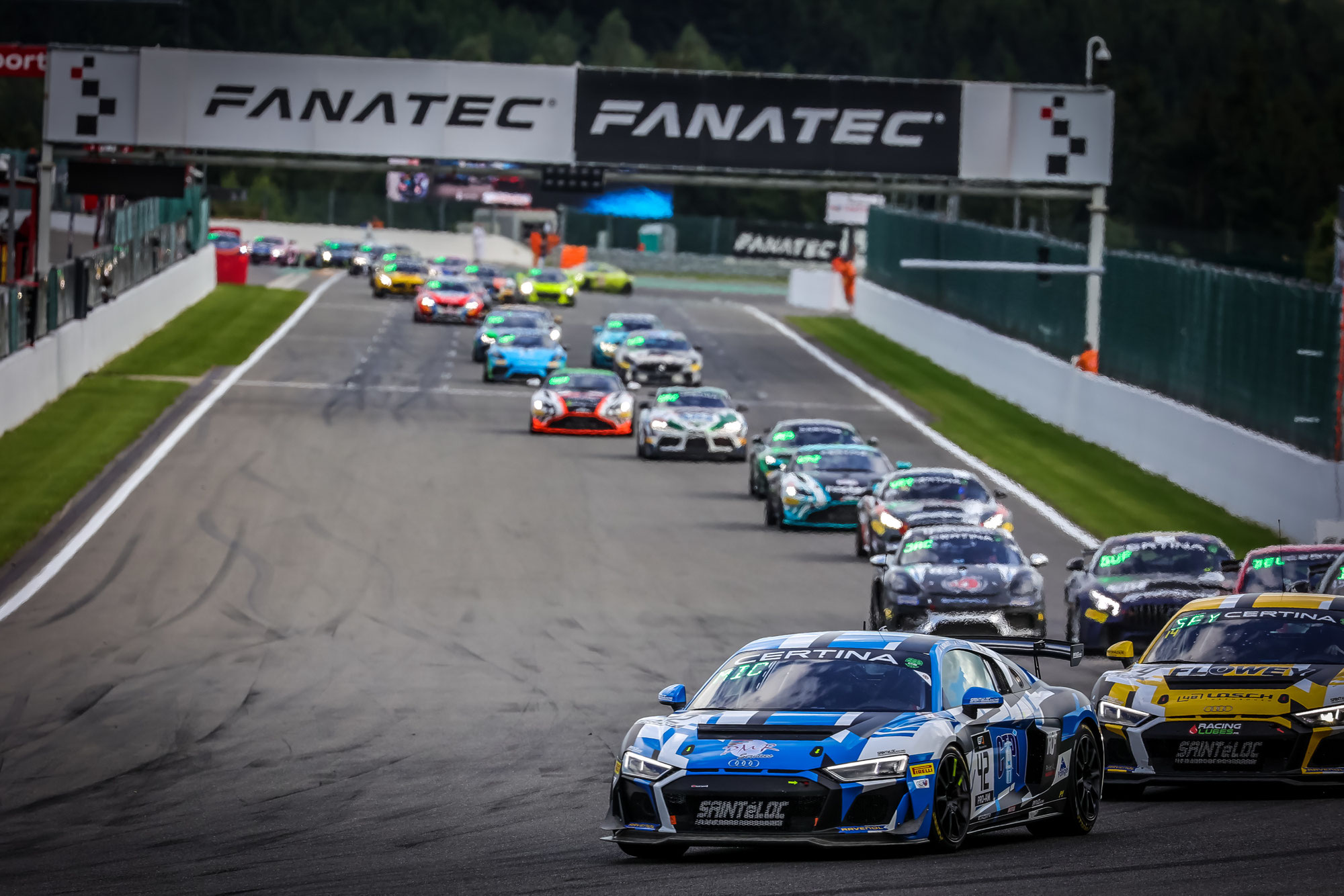 Audi R8 LMS GT4 nimmt Kurs auf Titel in Europa