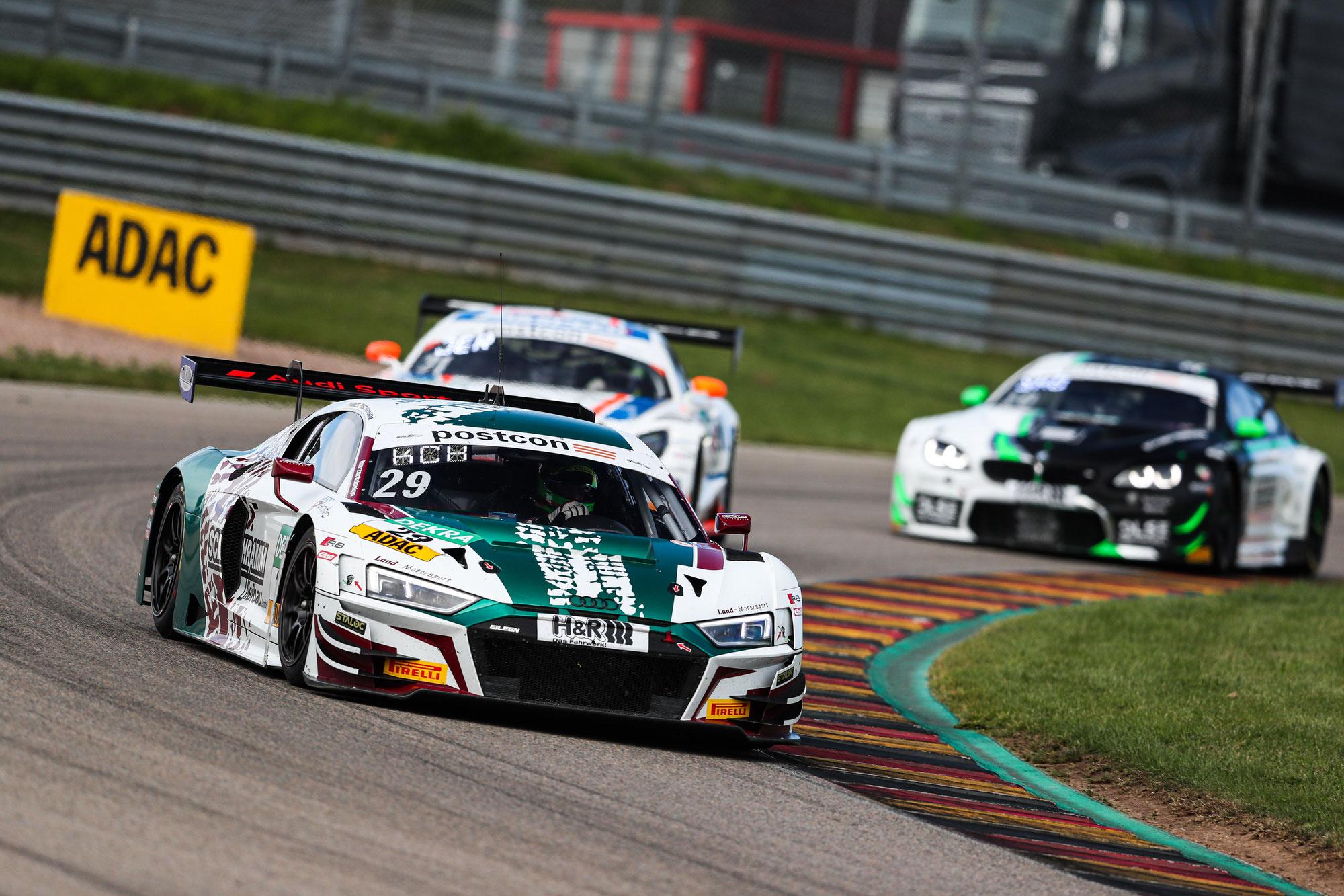 Land-Motorsport startet erneut mit zwei Audi R8 LMS