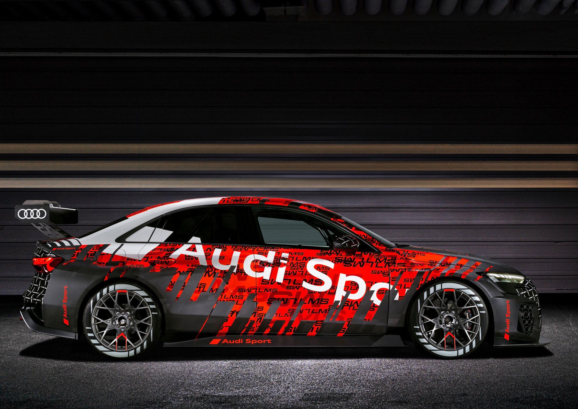 Neuer Audi RS 3 LMS bestreitet FIA WTCR 2021