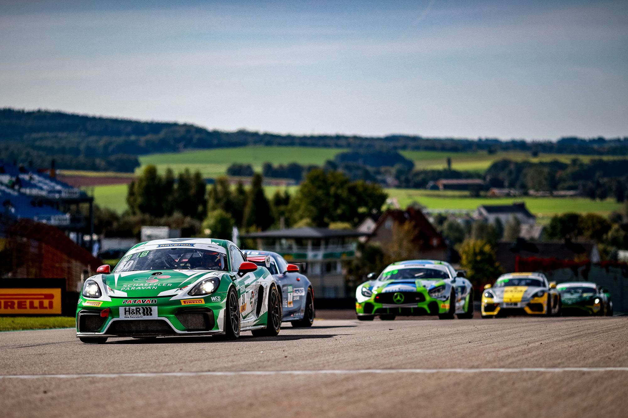 Fulminantes GT4-Germany Wochenende auf dem Sachsenring von W&S Motorsport