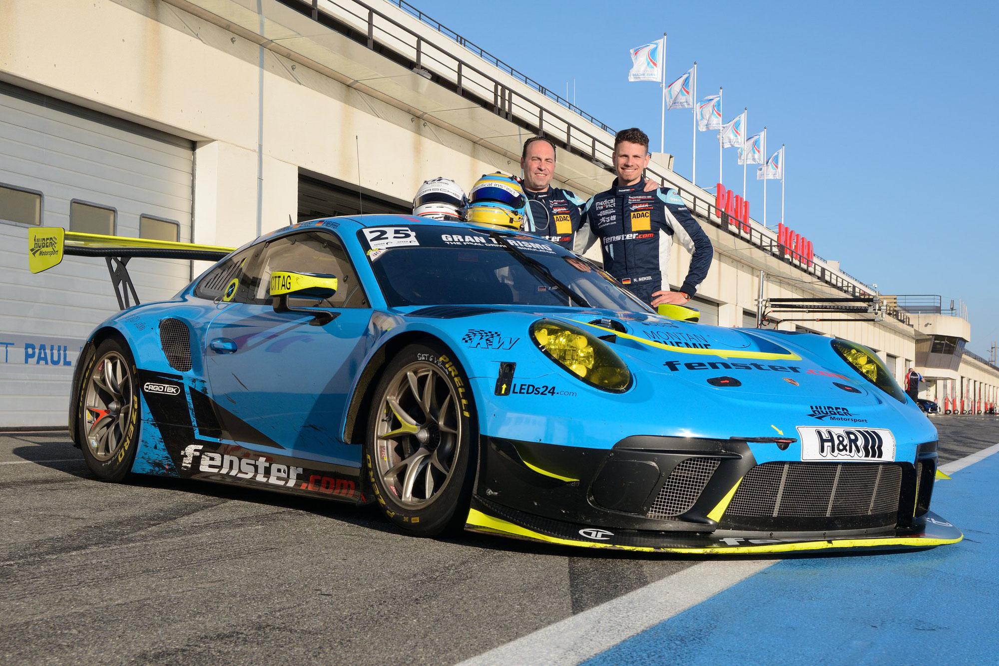 Huber Motorsport startet 2021 mit einem Porsche GT3 R und einem Porsche 911 GT3 Cup in der NLS