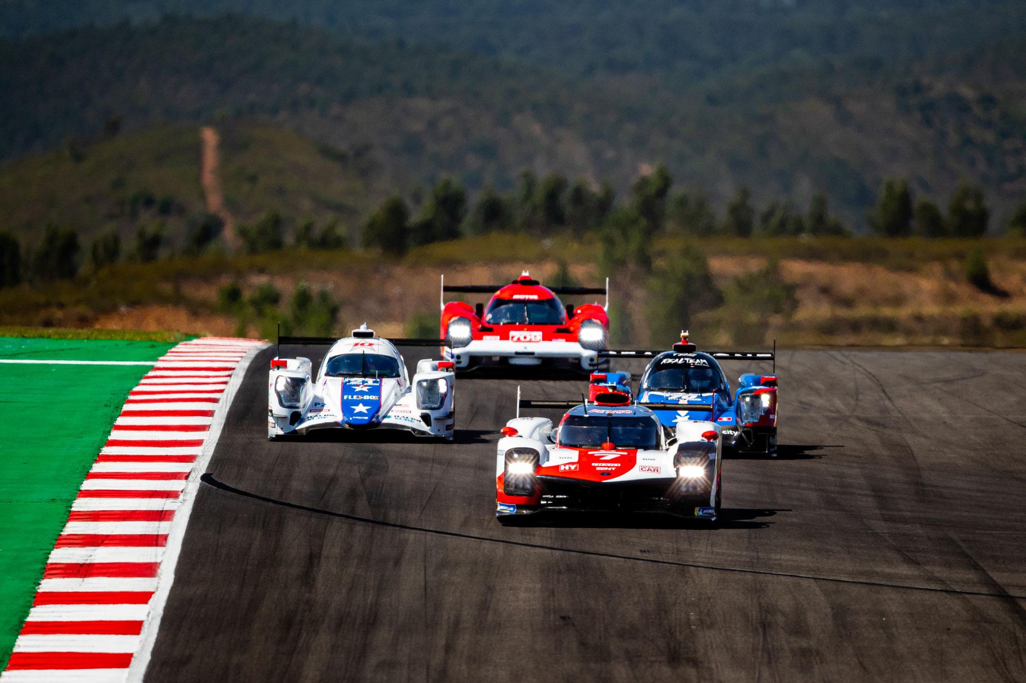 8h Portimão 6-Stunden-Bericht: Safety Car schließt Toyota/Alpine-Kampf ab
