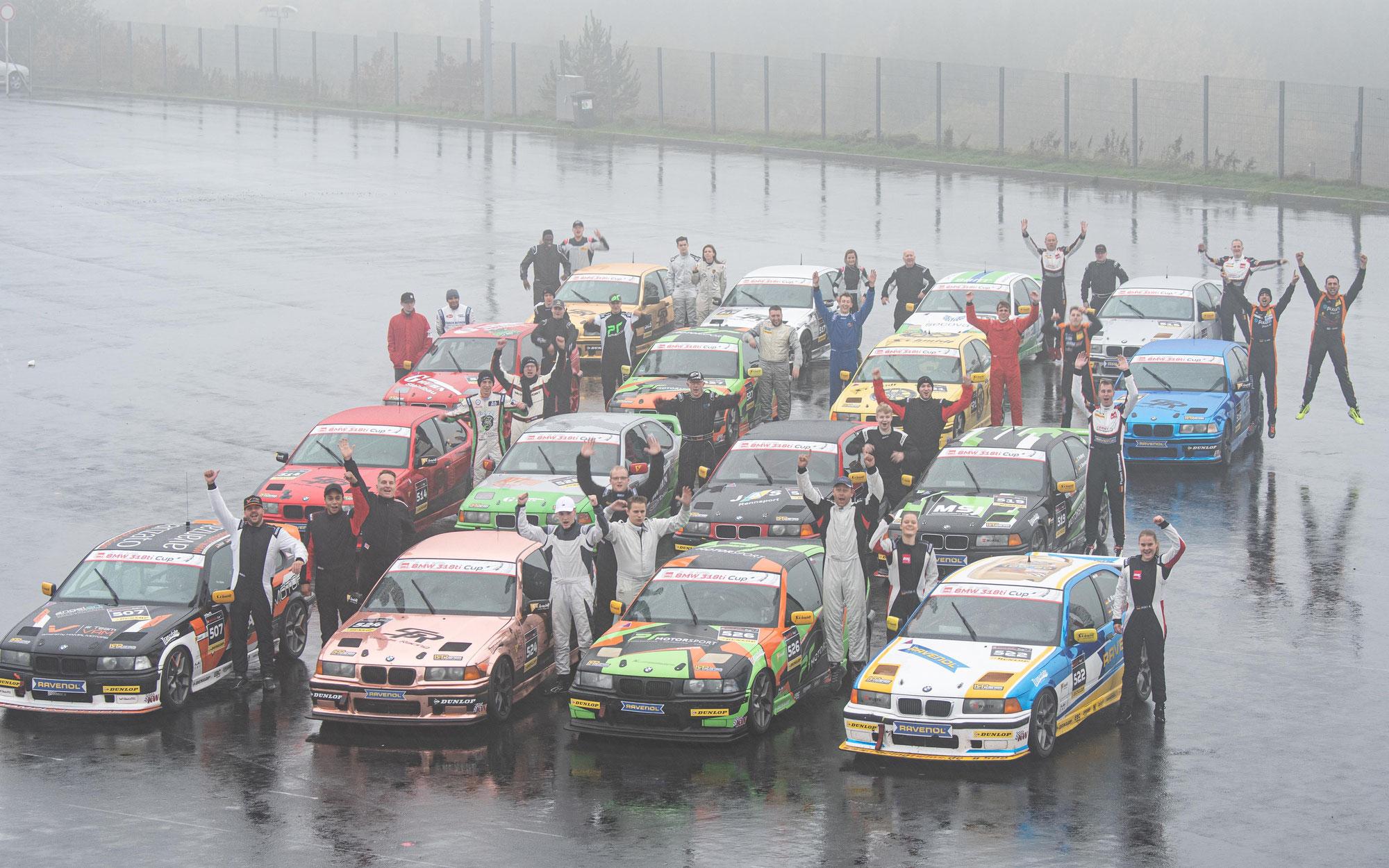 DMV BMW 318ti Cup startet mit Rekordfeld in die neue Saison!