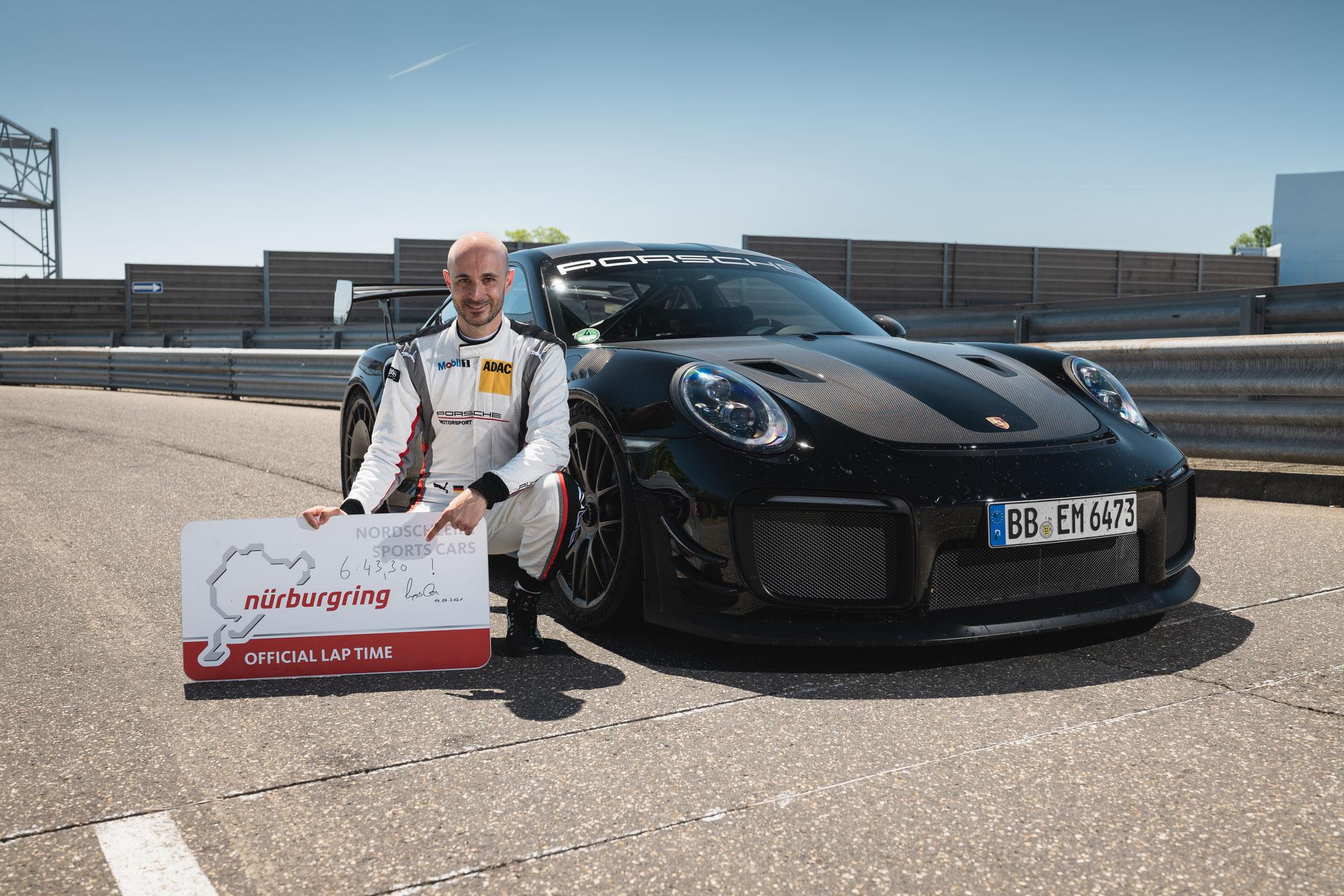 Neuer Rekord auf der Nordschleife: Porsche 911 GT2 RS ist schnellstes Serienfahrzeug