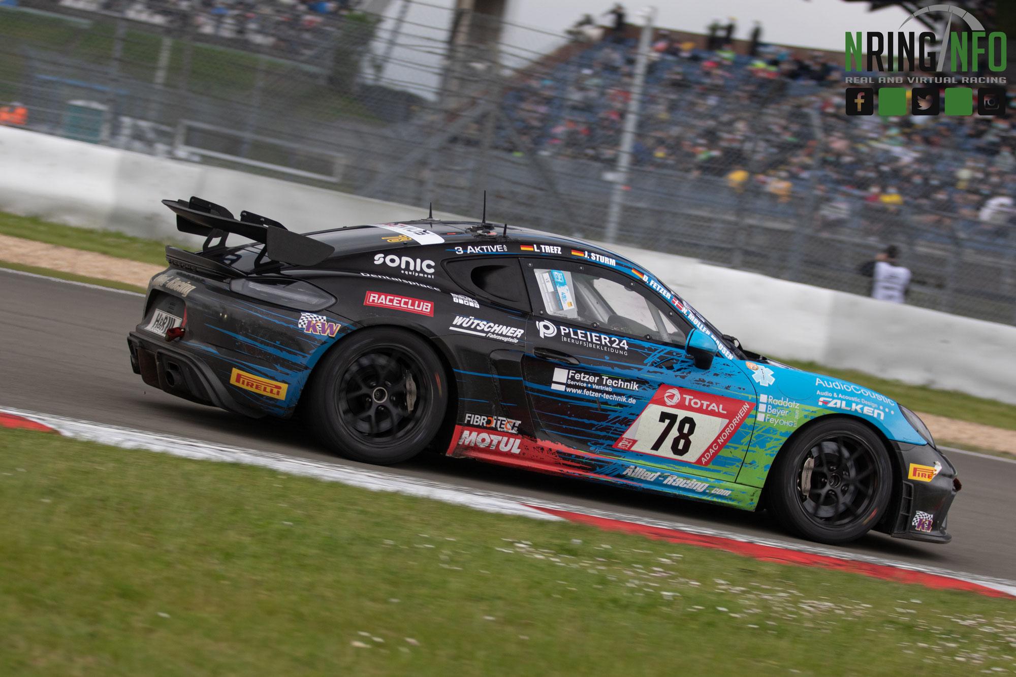 24h-Rennen: Joel Sturm wird auf dem Nürburgring Dritter