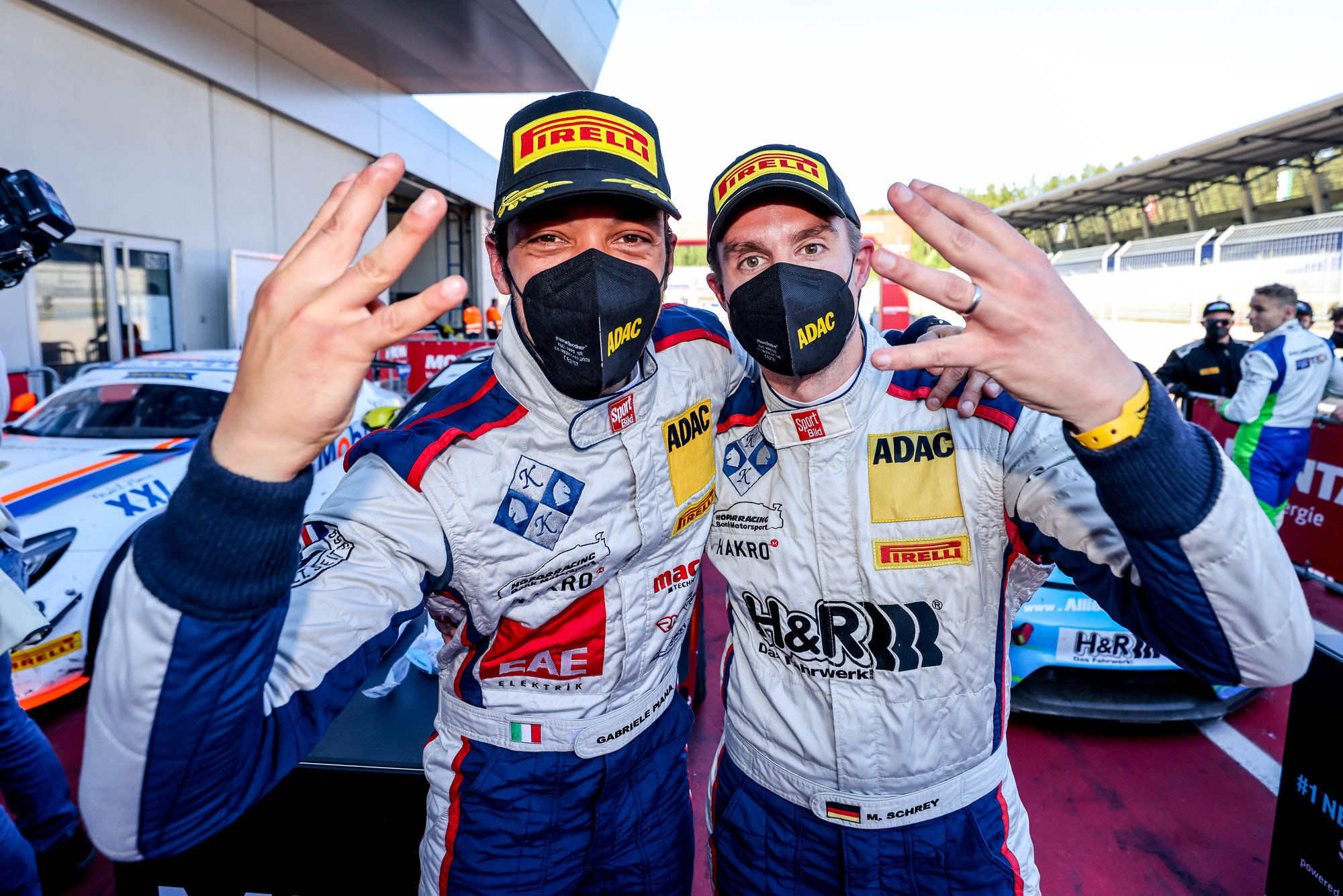 Vierter Saisonsieg für Schrey/Piana auf dem Red Bull Ring
