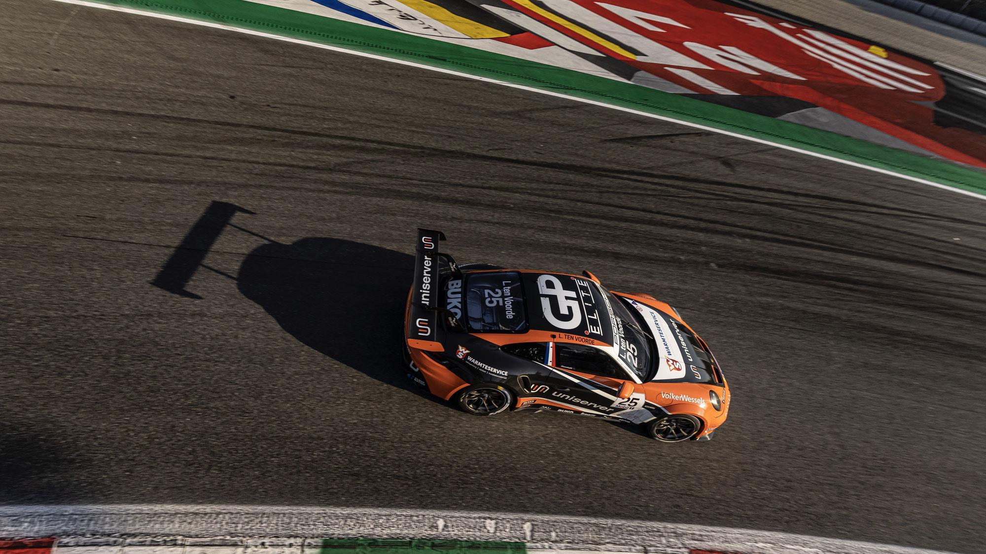Nervenstark in Monza: Larry ten Voorde behauptet sich im Qualifying-Krimi