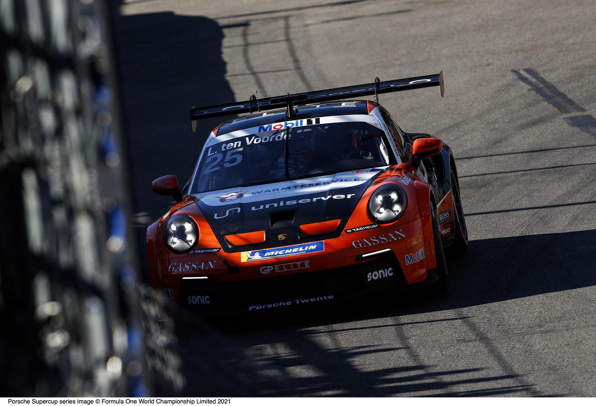 Titelverteidiger Larry ten Voorde holt die Pole-Position in Monte Carlo