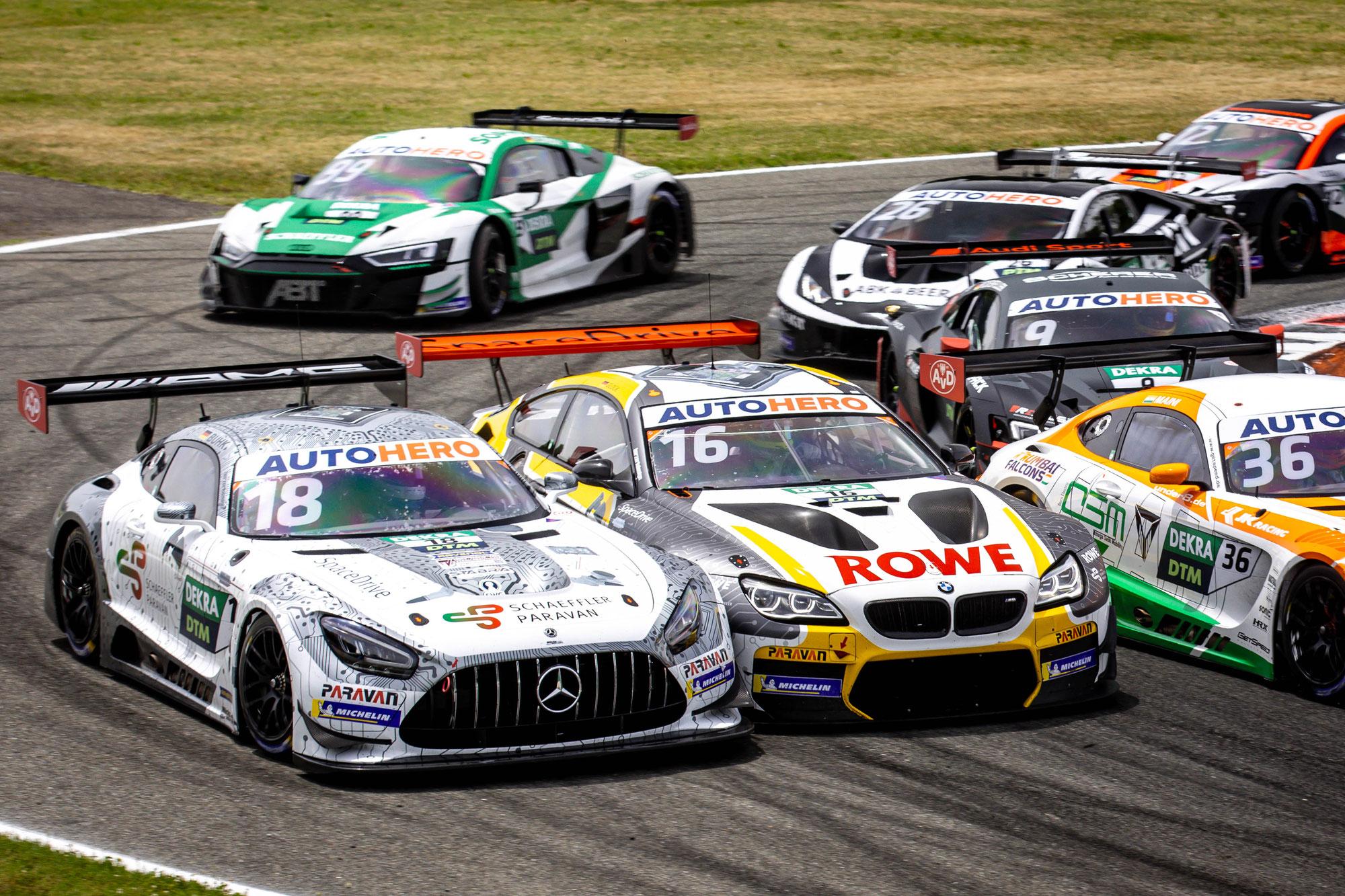 Gelungener DTM-Start für Mercedes-AMG Team Mücke Motorsport und Maximilian Buhk