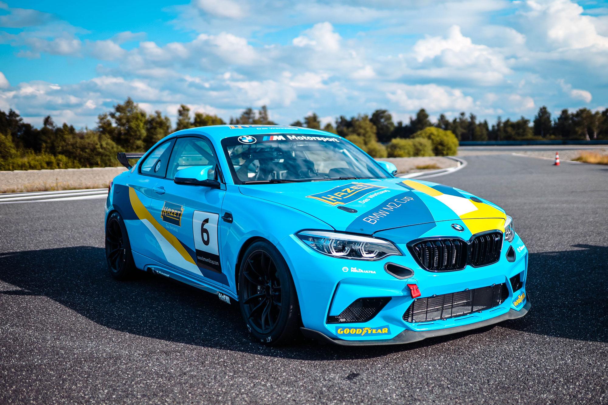 ALLES AUF GRÜN: SAISONAUFTAKT DES BMW M2 CUP