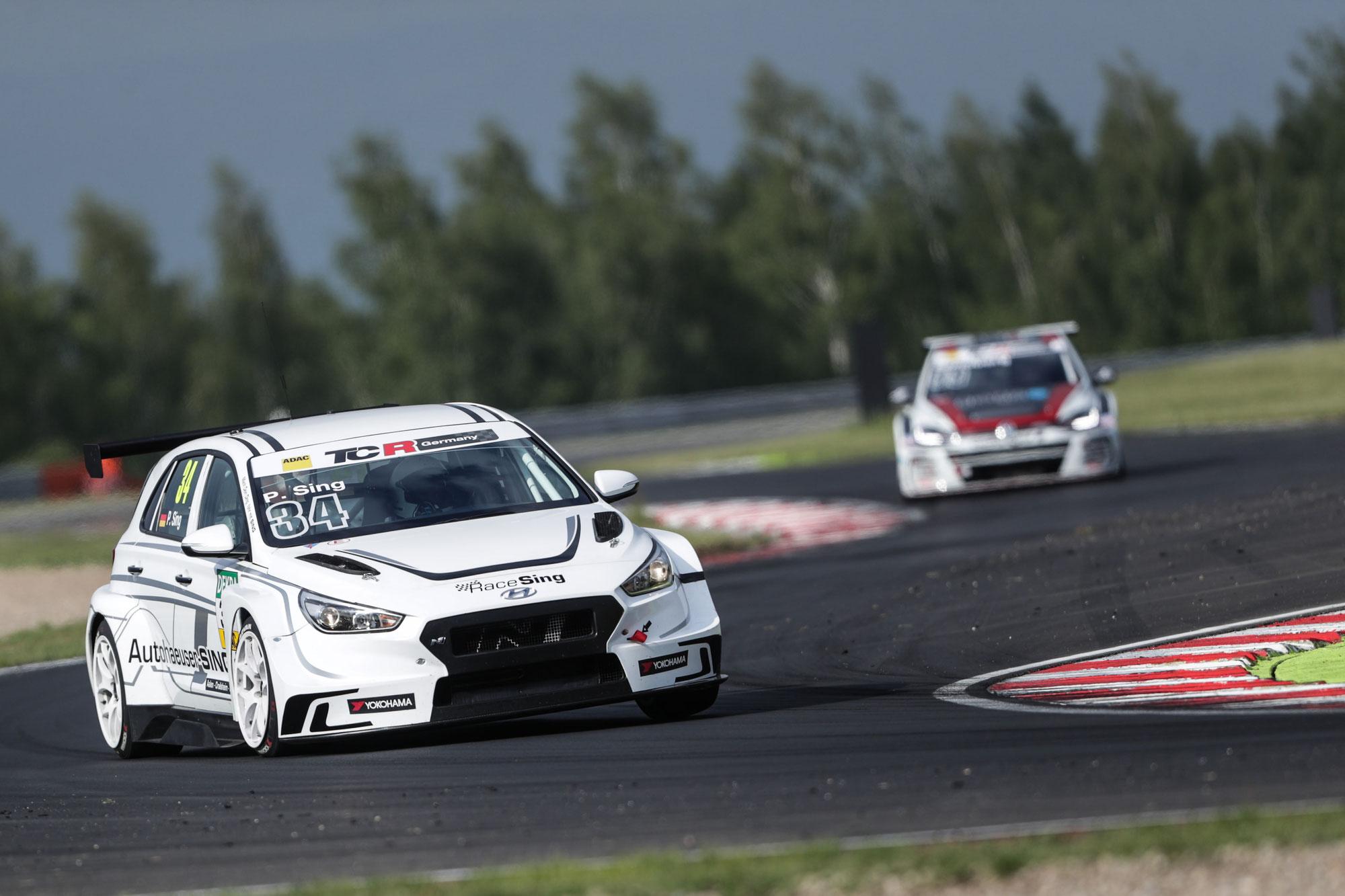 Patrick Sing startet im Hyundai i30 N TCR in der ADAC TCR Germany