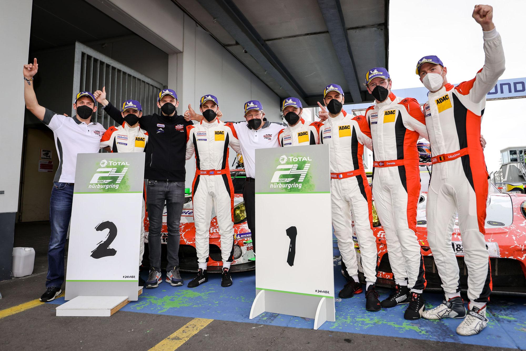 Doppelsieg für Frikadelli Racing bei der Generalprobe für das 24h-Rennen