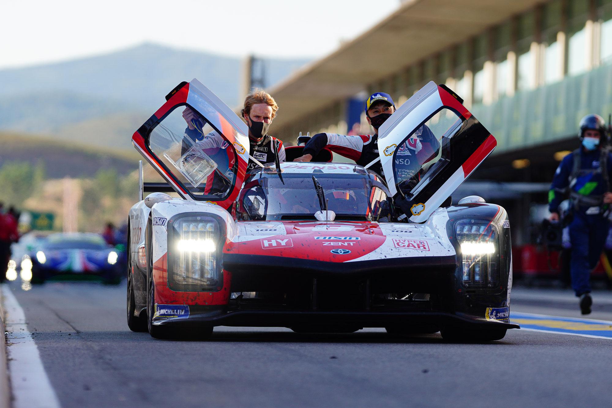 Toyota gewinnt erstes FIA WEC-Rennen in Portimão