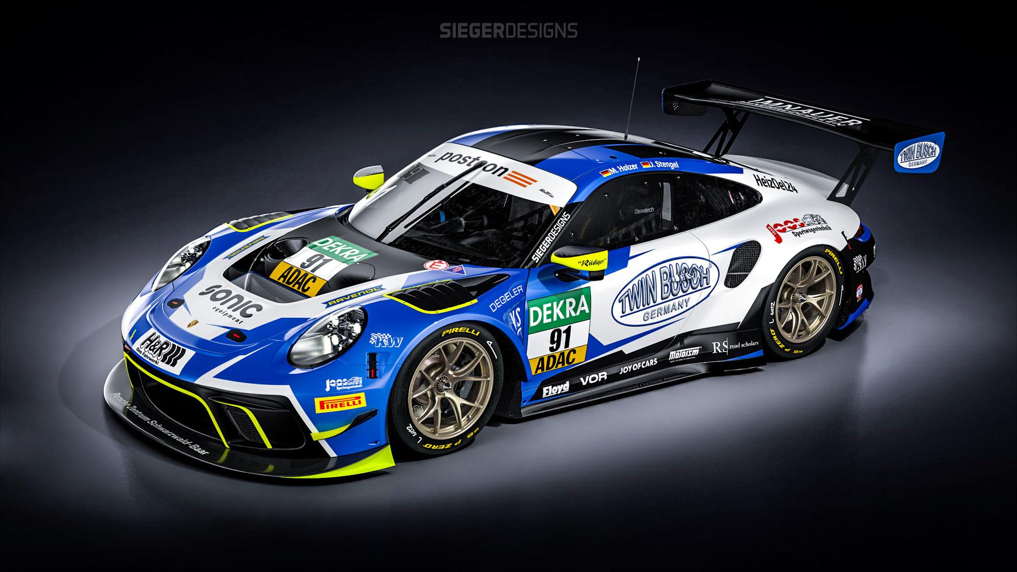 Team Joos Sportwagentechnik startklar für Premierensaison im ADAC GT Masters