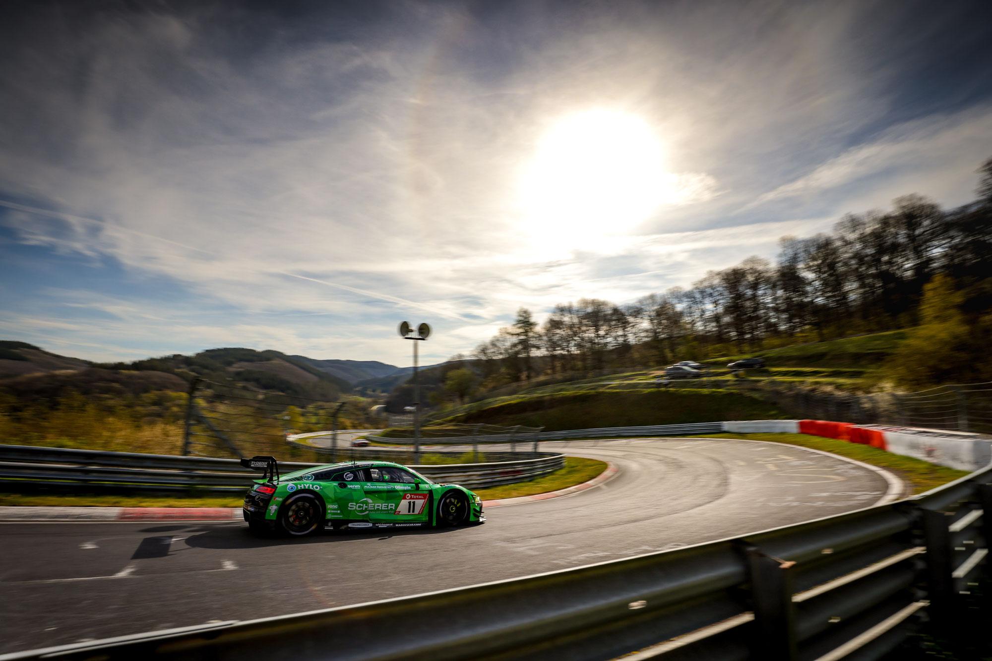 Phonix Audi geht als Trainingsschnellster in das Top-30-Qualifying