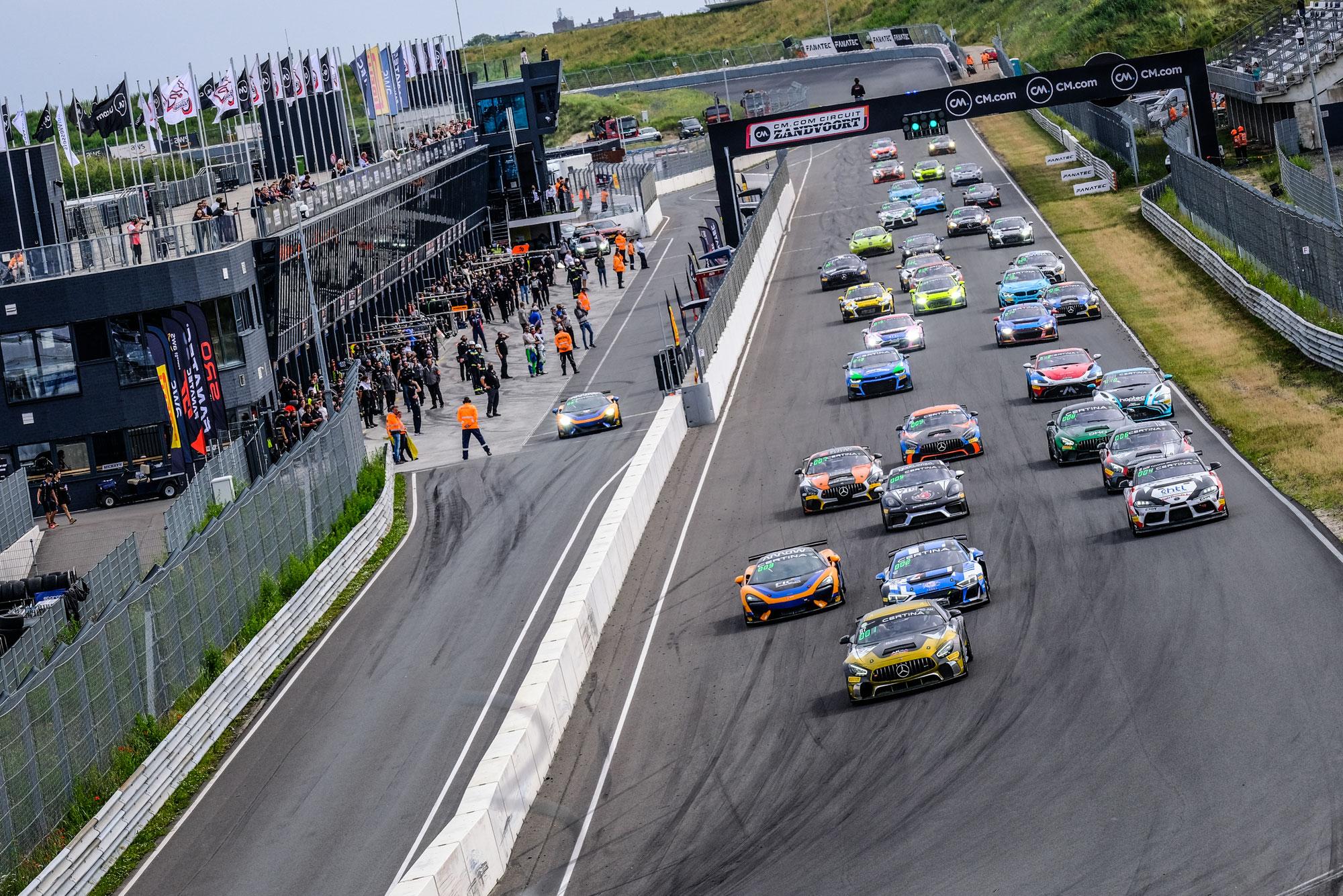 GT4 European Series startet in Spa mit 41 Fahrzeugen in die zweite Saisonhälfte