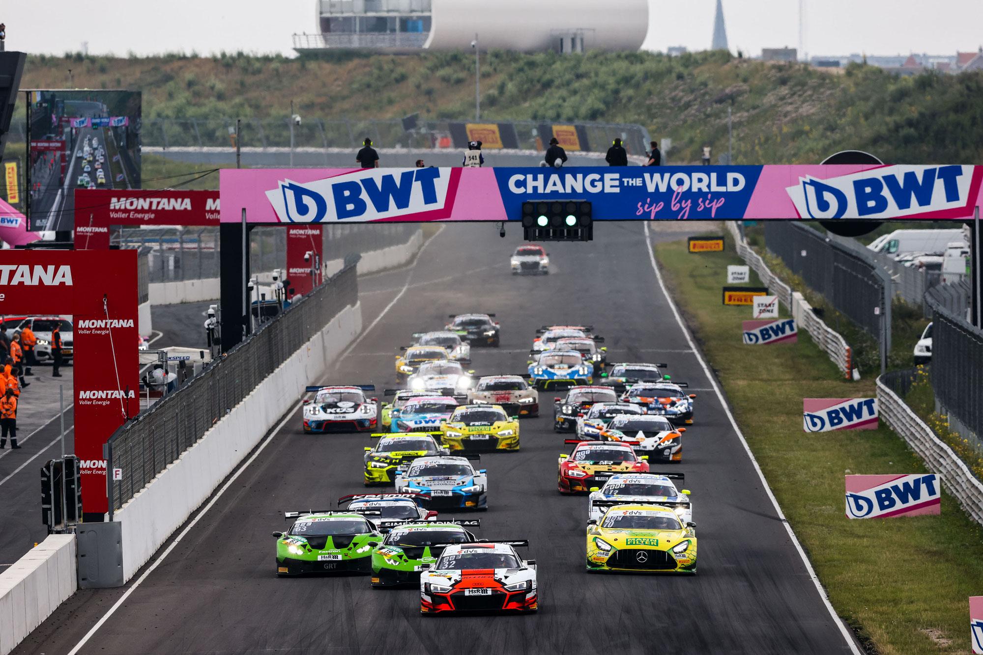 Weerts/Vanthoor sorgen für zweiten Audi-Sieg beim Zandvoort-Wochenende der Deutschen GT-Meisterschaft