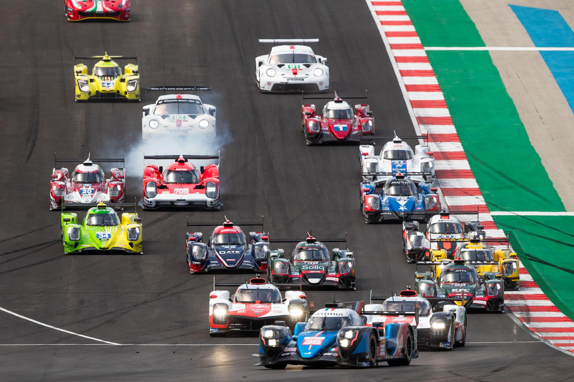 8h Portimão 2 Stunden Bericht: Alpine führt vor Toyota; Ferrari jagt Porsche in der LMGTE Pro