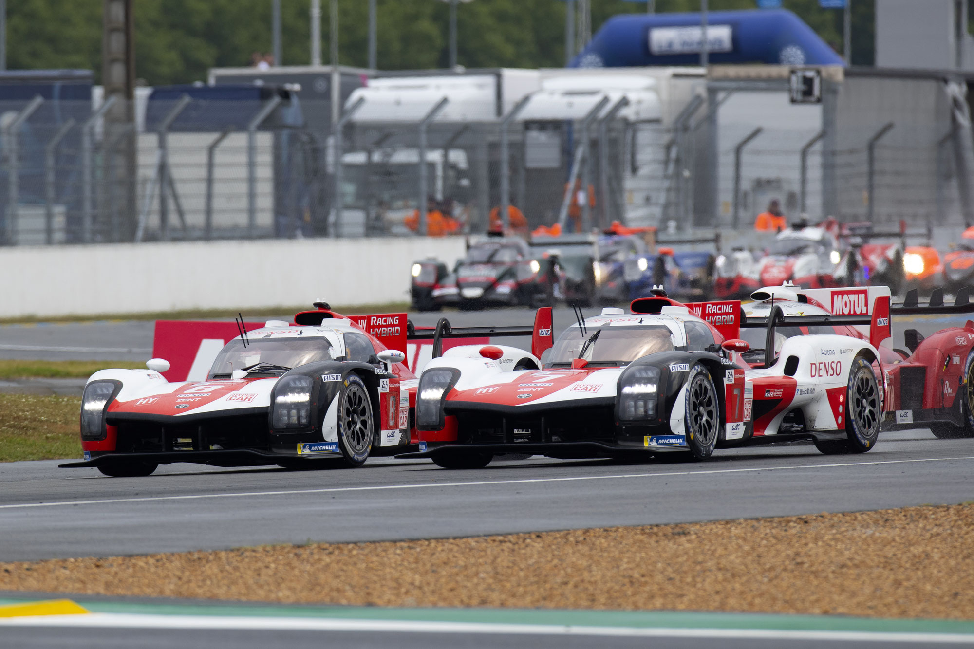 LM24 1-Stunden-Bericht: Toyota Nr. 7 führt das Feld an
